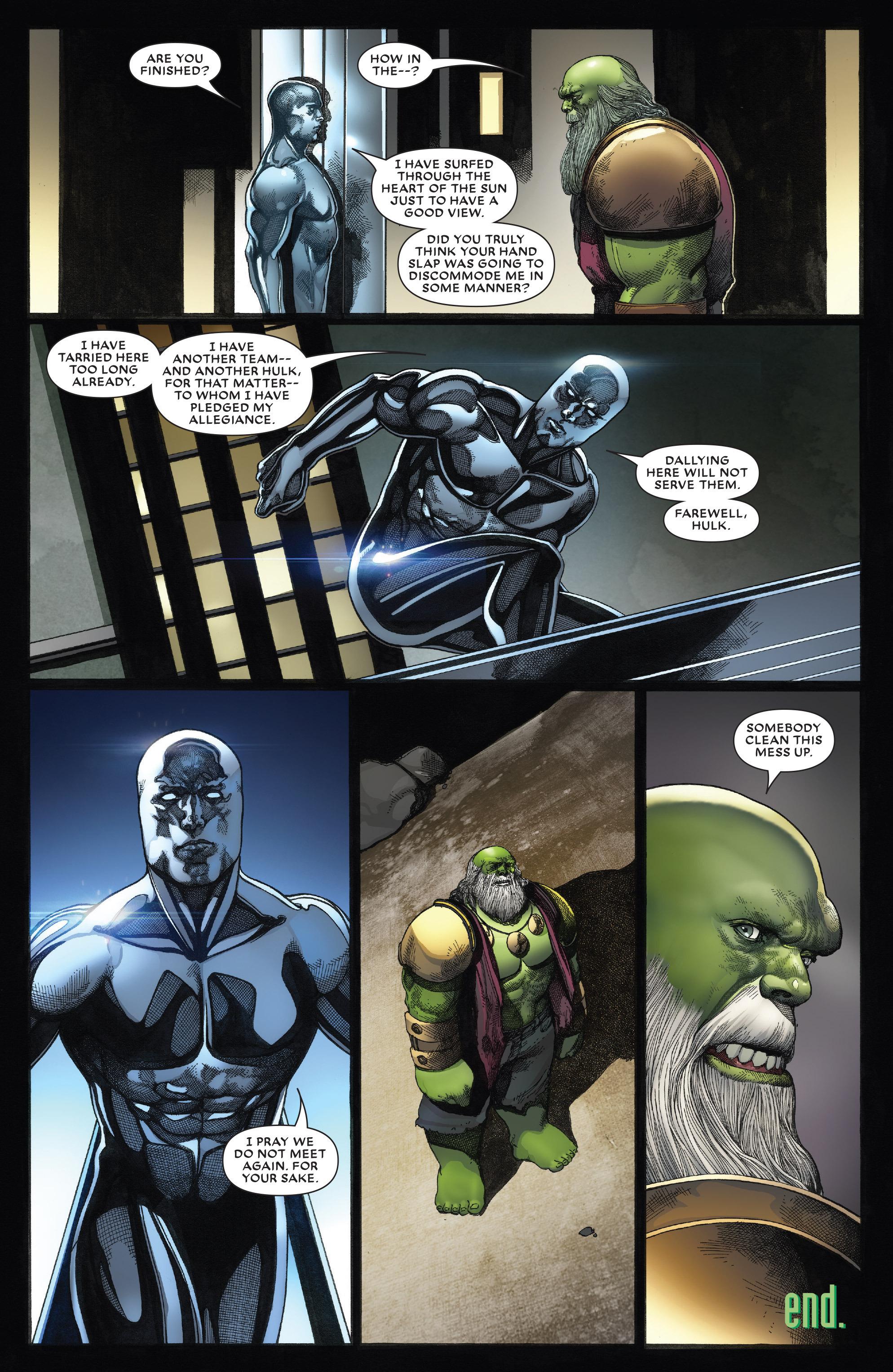 Read online Secret Wars: Battleworld comic -  Issue #4 - 21