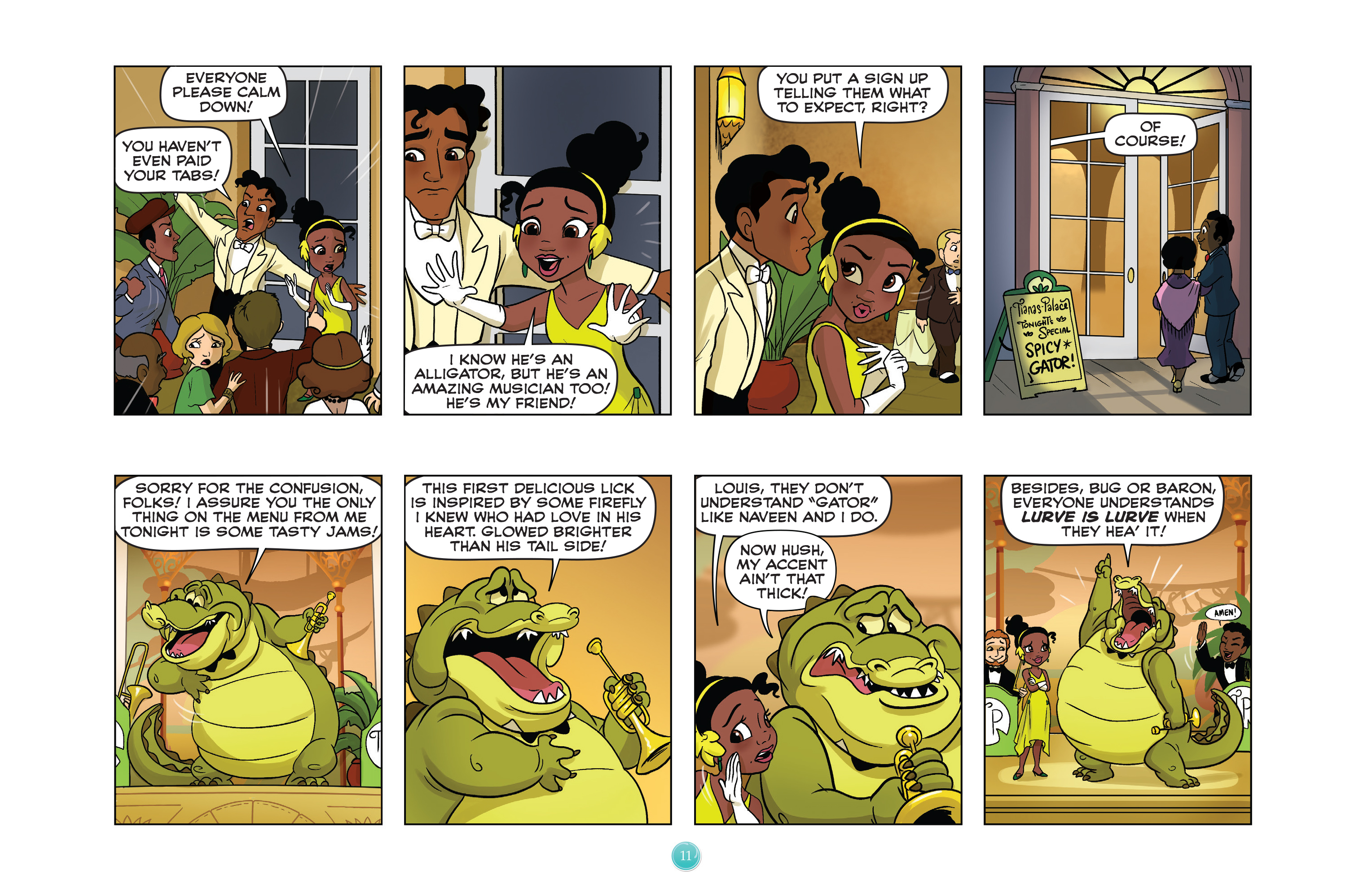 Read online Disney Princess comic -  Issue #5 - 14