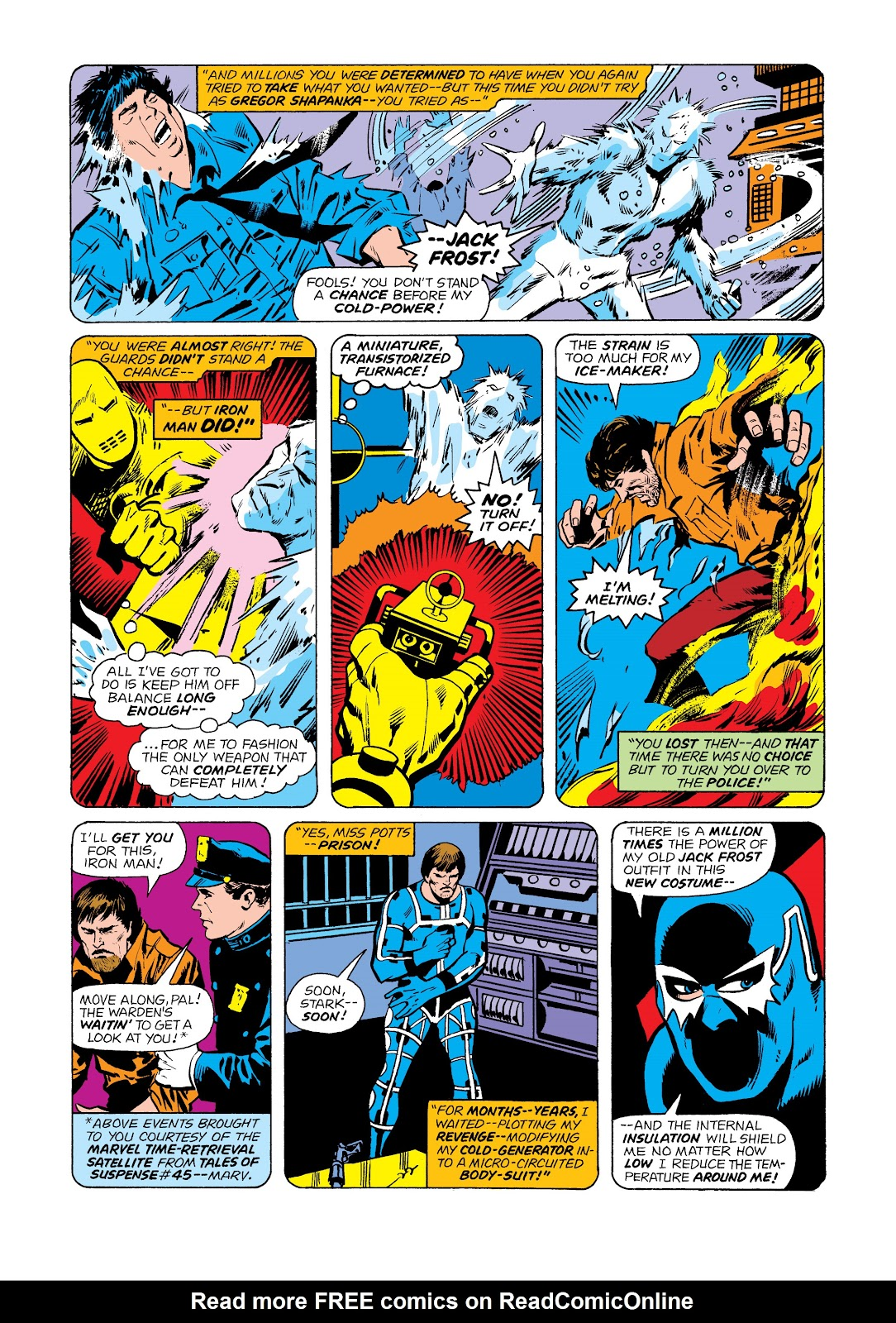 Read online Marvel Masterworks: The Invincible Iron Man comic -  Issue # TPB 11 (Part 2) - 8
