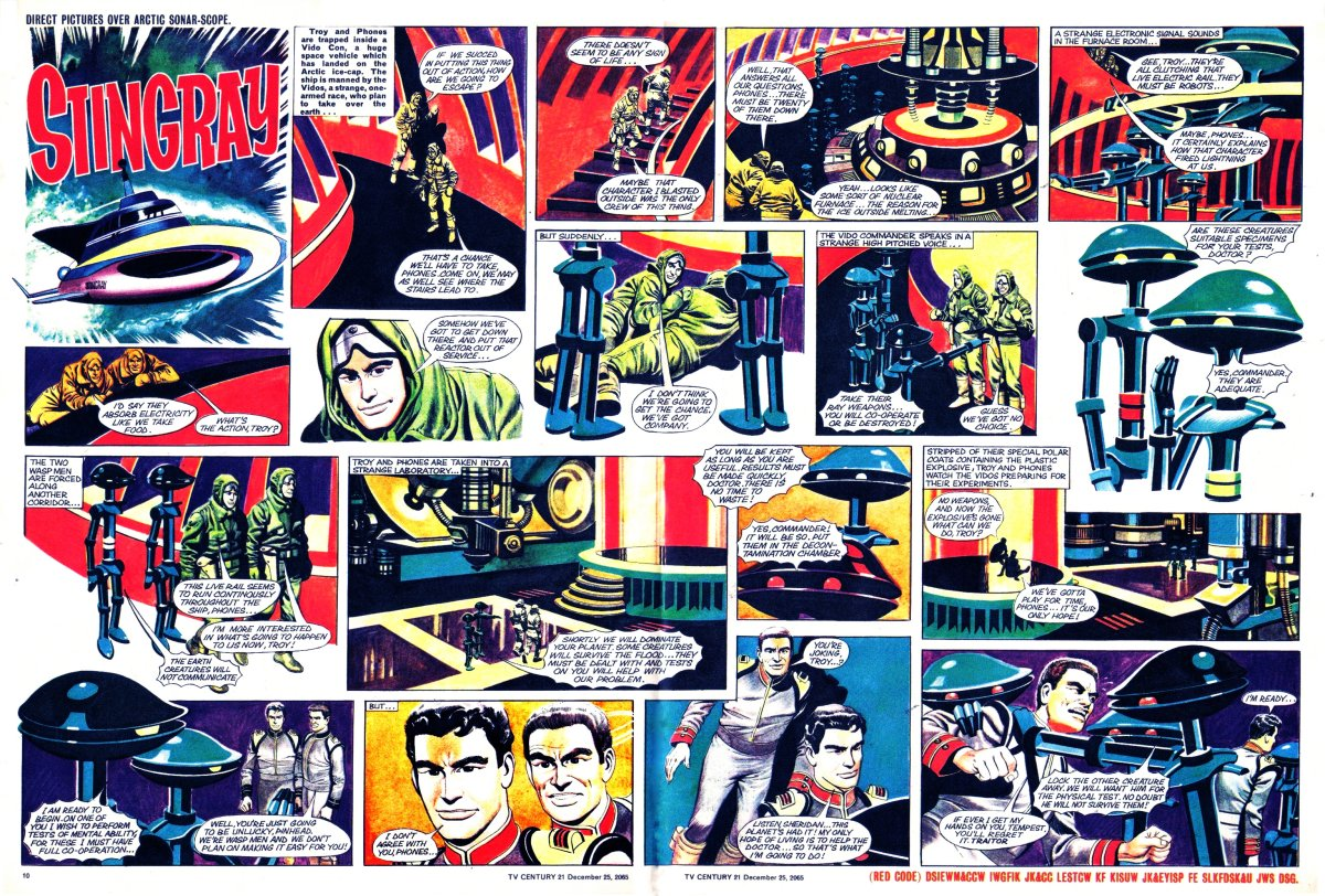 Read online TV Century 21 (TV 21) comic -  Issue #49 - 10