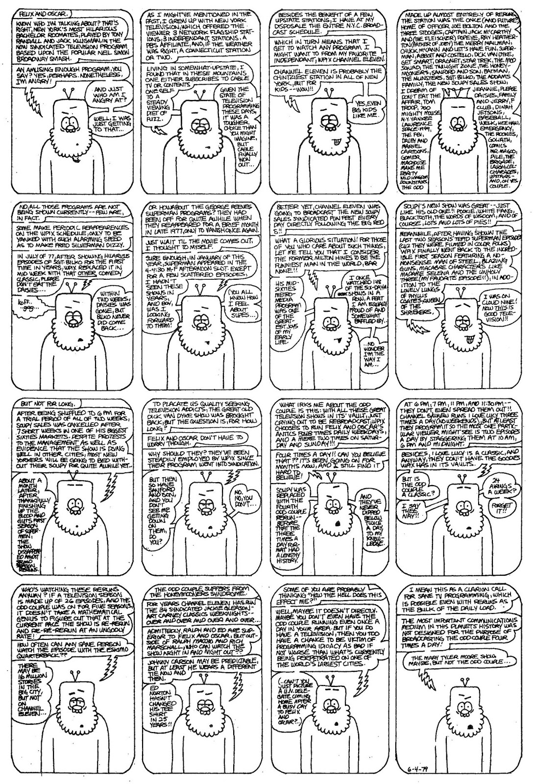 Read online The Nearly Complete Essential Hembeck Archives Omnibus comic -  Issue # TPB (Part 1) - 60