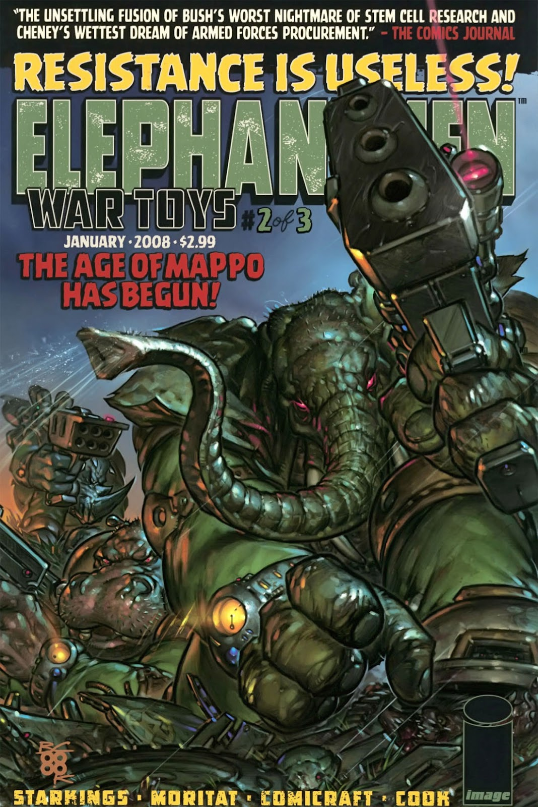 Elephantmen: War Toys issue 2 - Page 1