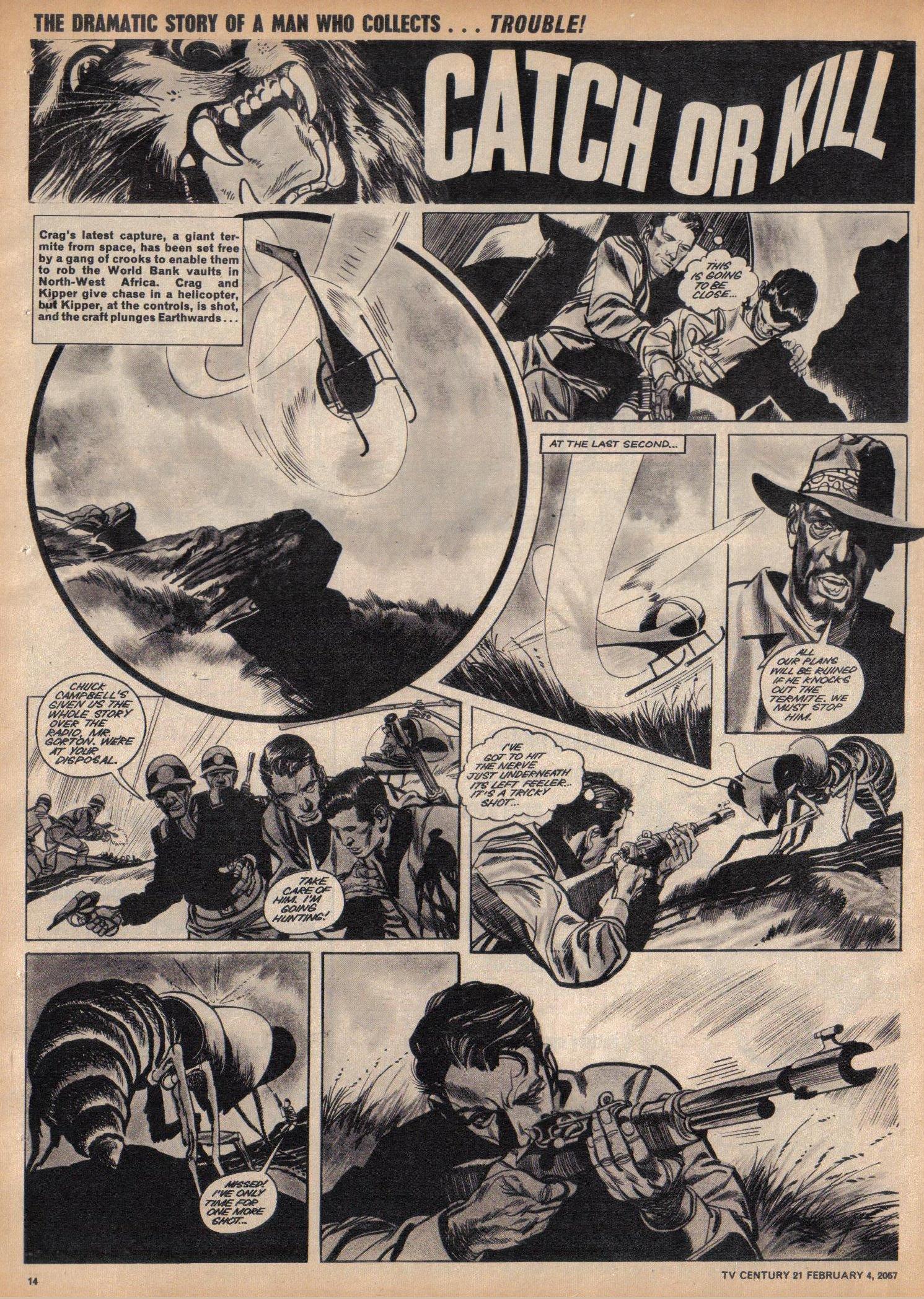 Read online TV Century 21 (TV 21) comic -  Issue #107 - 13