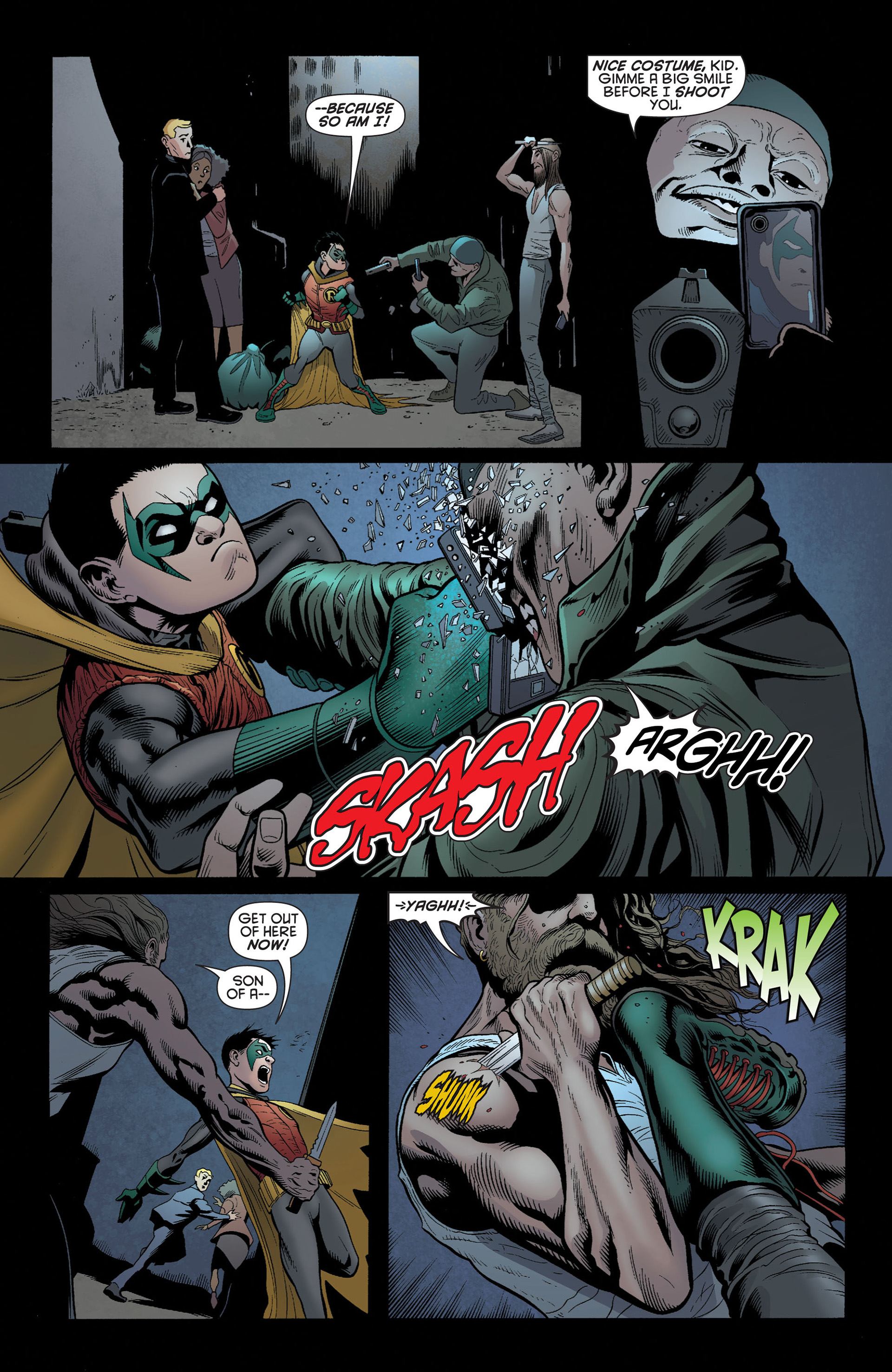 Read online Batman and Robin (2011) comic -  Issue #3 - 10