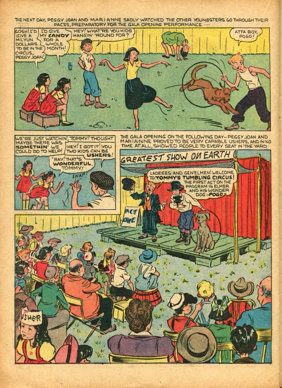 Read online Super-Magician Comics comic -  Issue #5 - 41