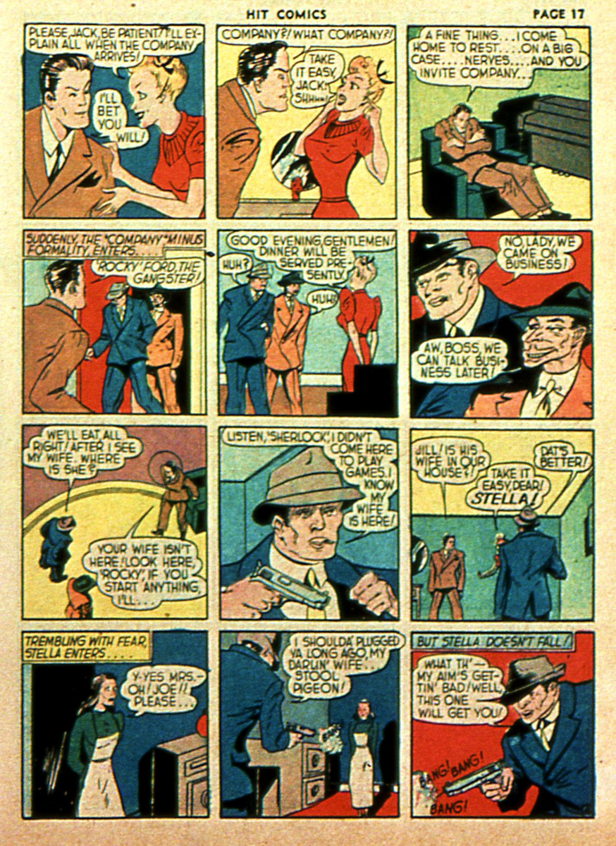 Read online Hit Comics comic -  Issue #2 - 19