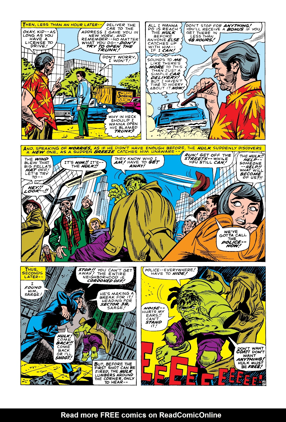 Read online Marvel Masterworks: The Incredible Hulk comic -  Issue # TPB 3 (Part 1) - 59