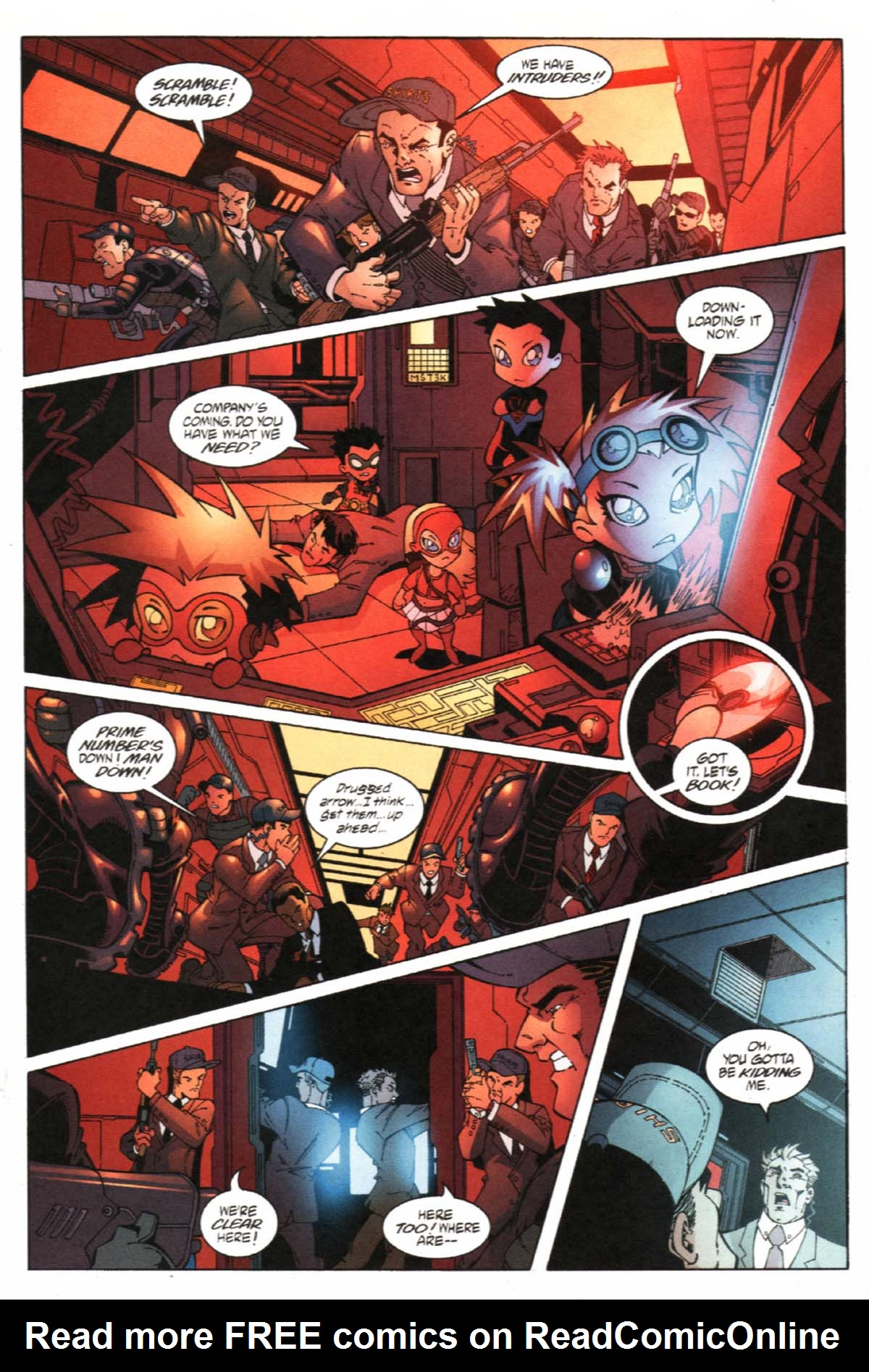 Read online SpyBoy/Young Justice comic -  Issue #1 - 6