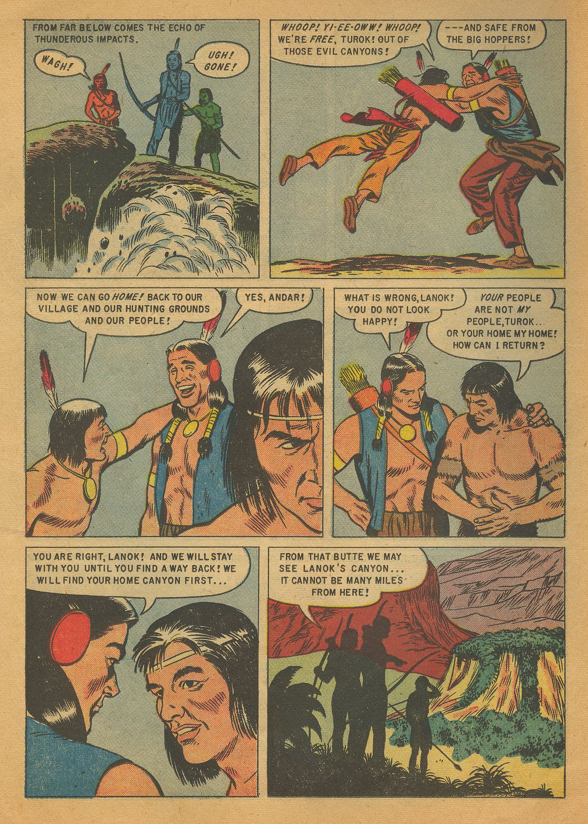 Read online Turok, Son of Stone comic -  Issue #4 - 14