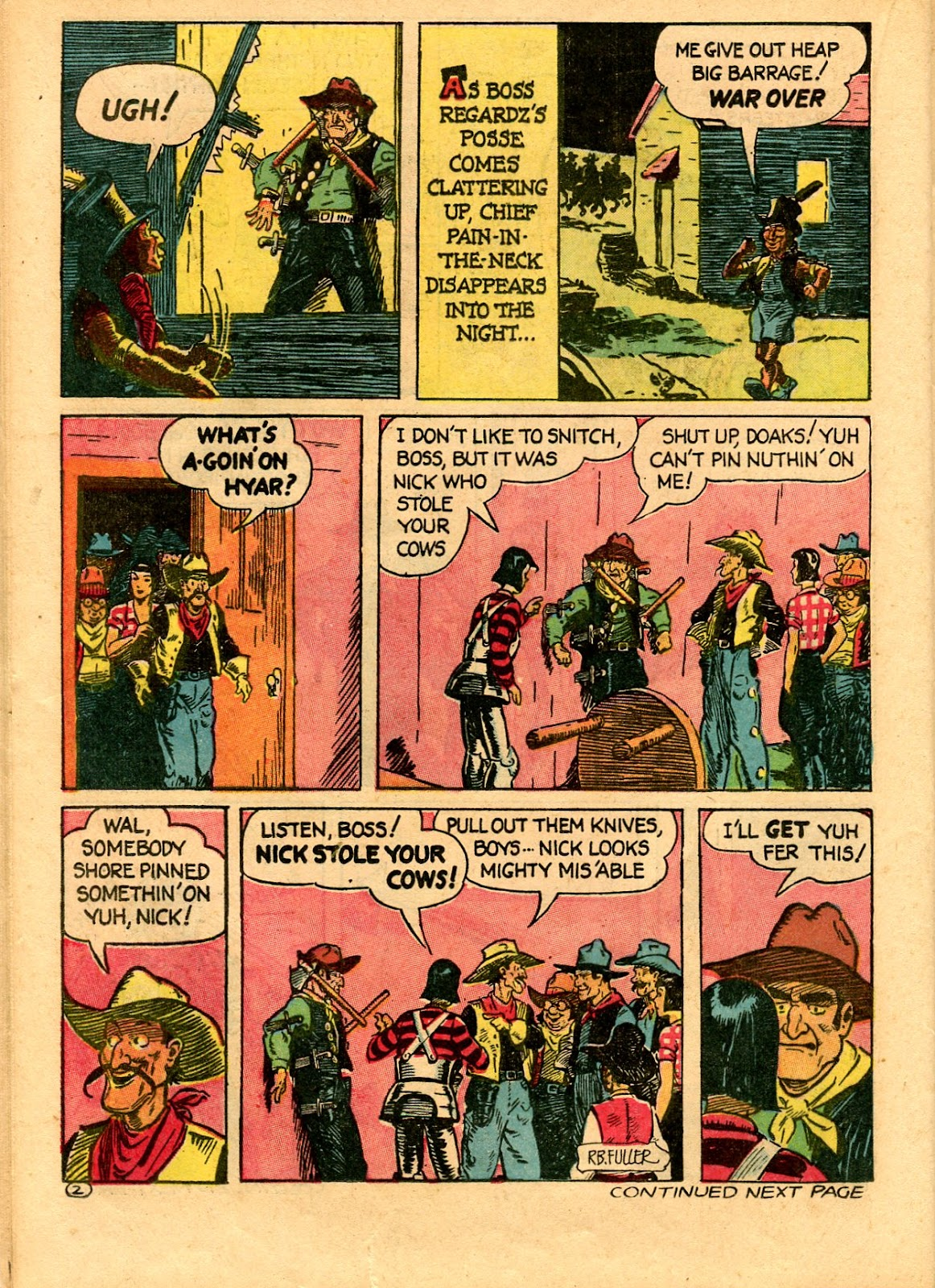 Read online Famous Funnies comic -  Issue #101 - 44