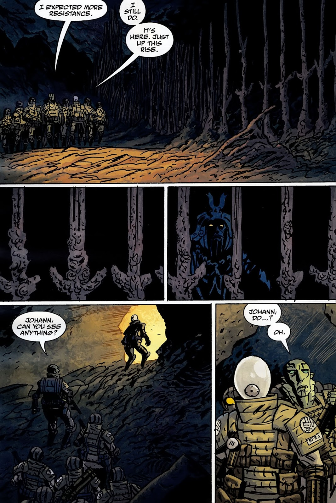 B.P.R.D.: The Warning issue 4 - Page 16