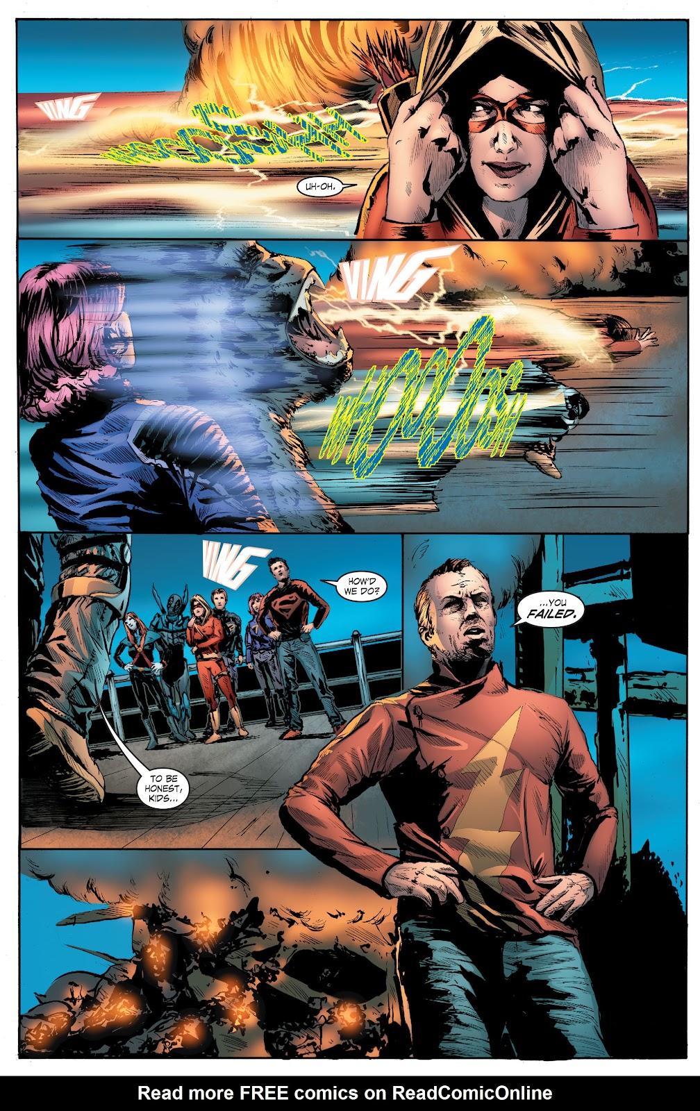 Read online Smallville Season 11 [II] comic -  Issue # TPB 7 - 140
