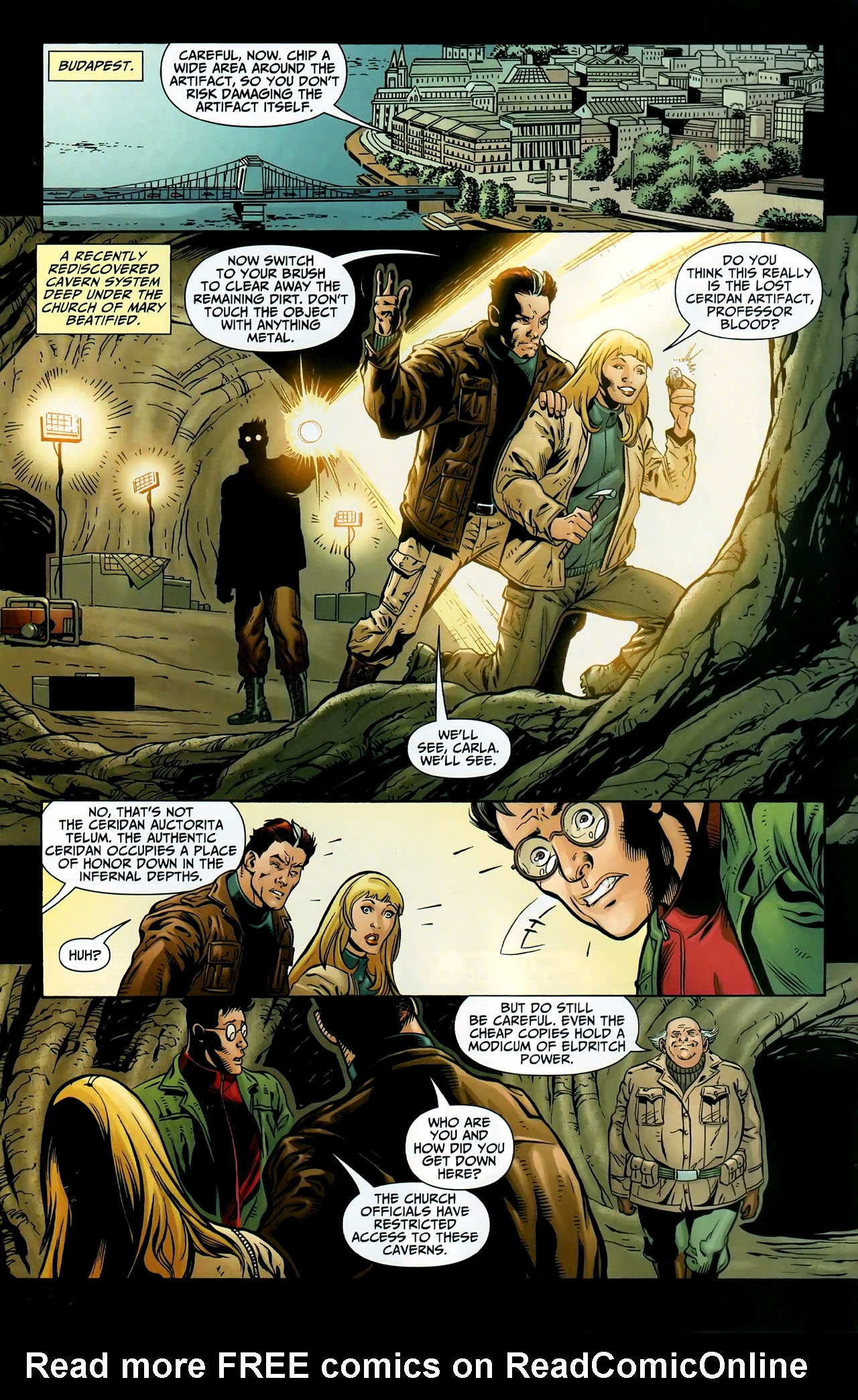 Read online Shadowpact comic -  Issue #9 - 4