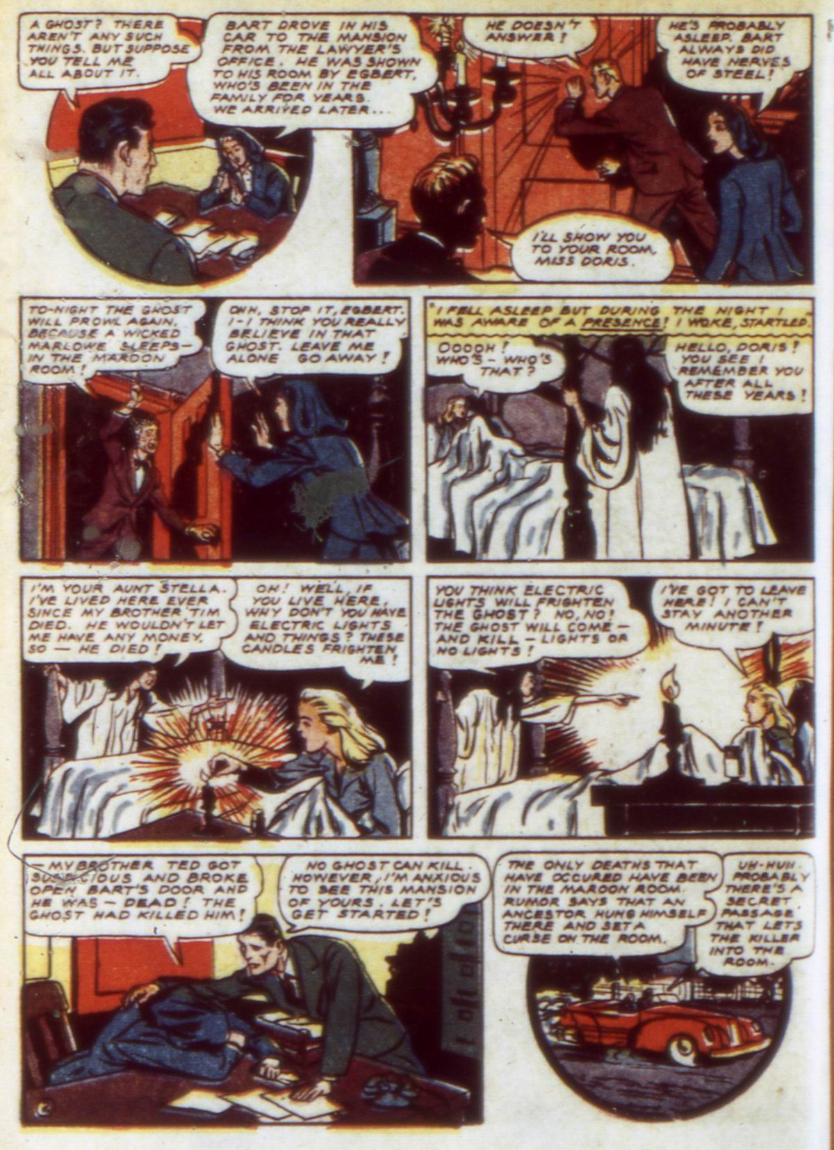 Read online Detective Comics (1937) comic -  Issue #60 - 44