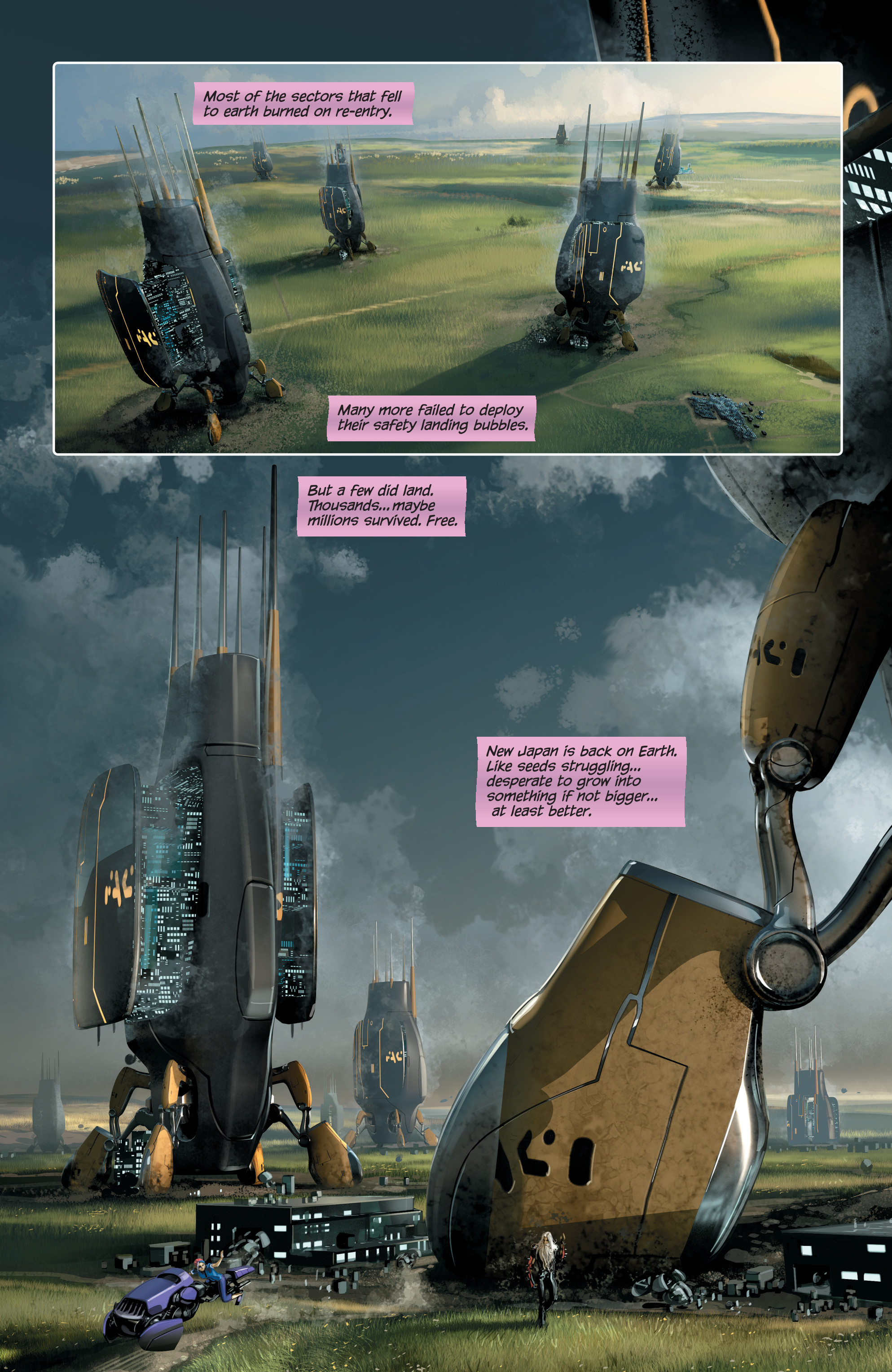 Read online 4001 A.D. comic -  Issue #4 - 14