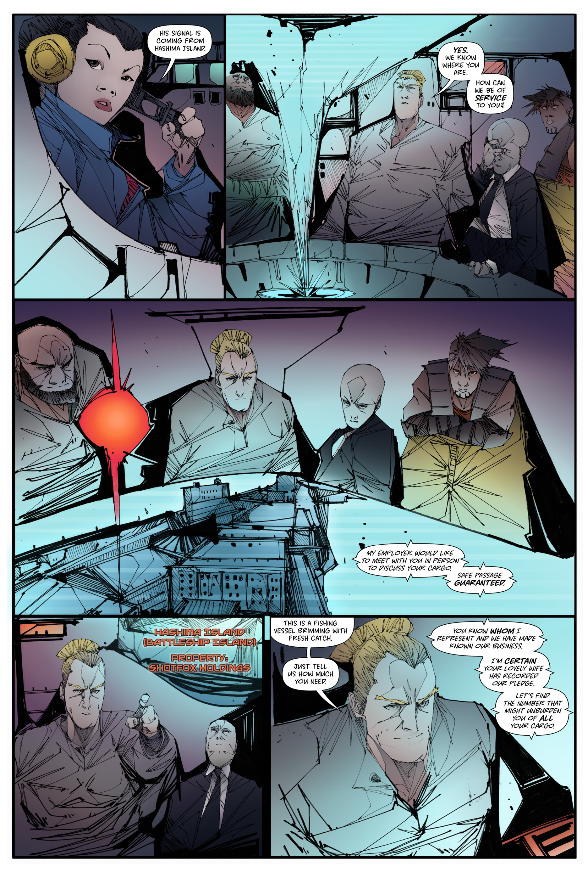 Read online Scrimshaw comic -  Issue #2 - 17