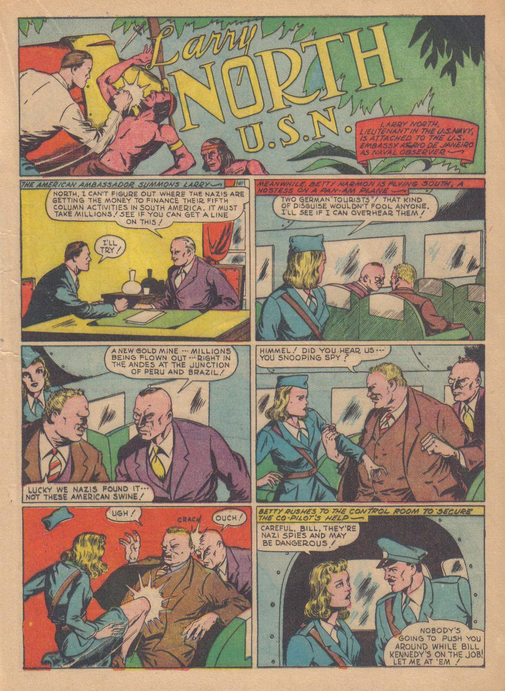 Exciting Comics (1940) issue 13 - Page 31