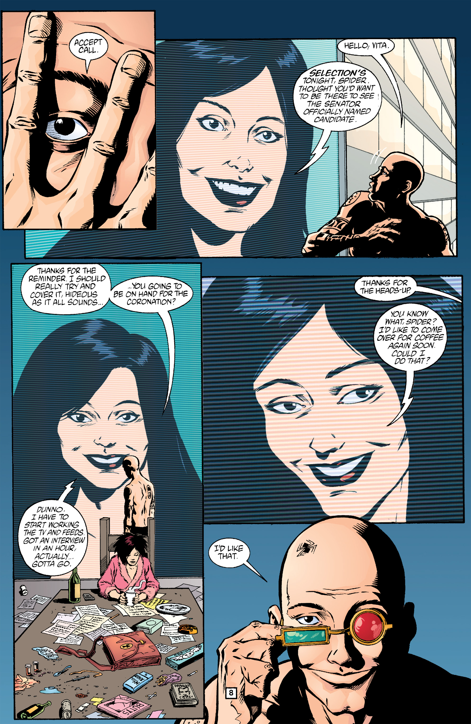 Read online Transmetropolitan comic -  Issue #17 - 9