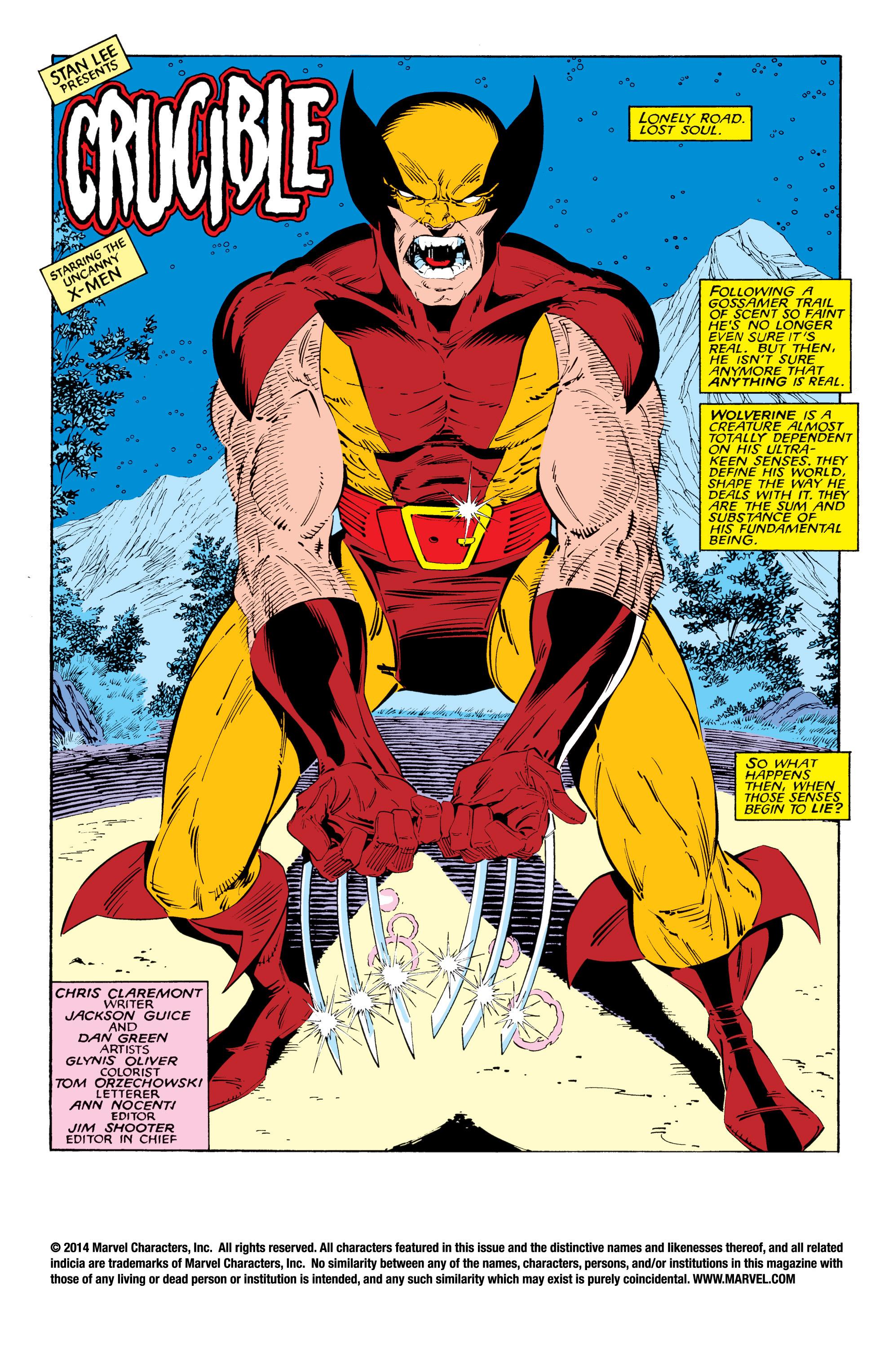 Read online Uncanny X-Men (1963) comic -  Issue #216 - 2