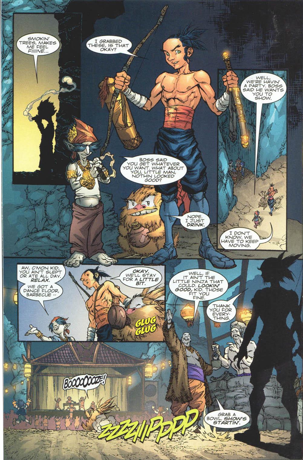 Read online Ninja Boy comic -  Issue #4 - 18
