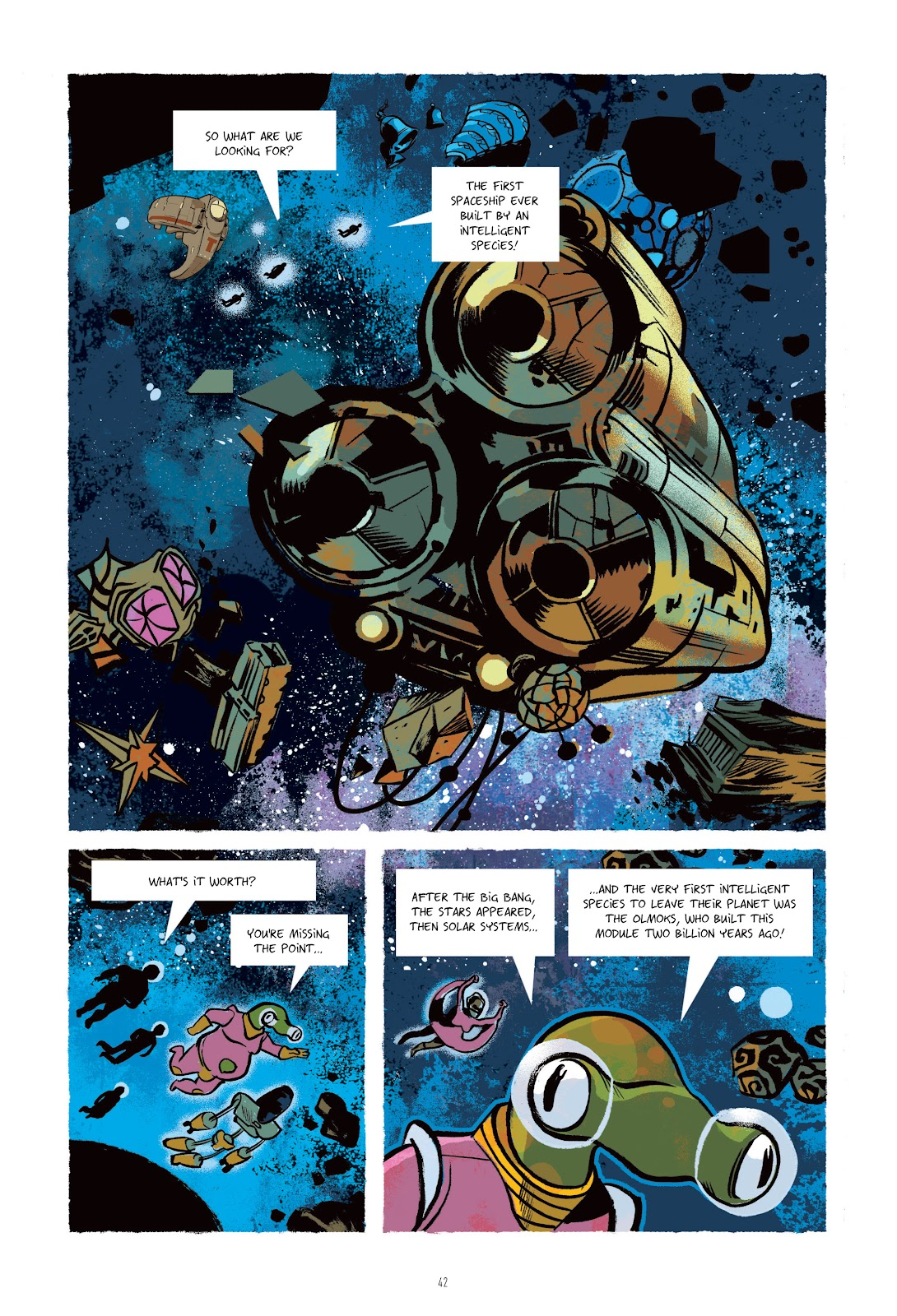 Read online Infinity 8 comic -  Issue # _TPB 3 - 42