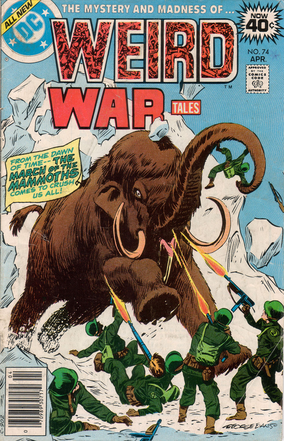 Weird War Tales (1971) issue 74 - Page 1