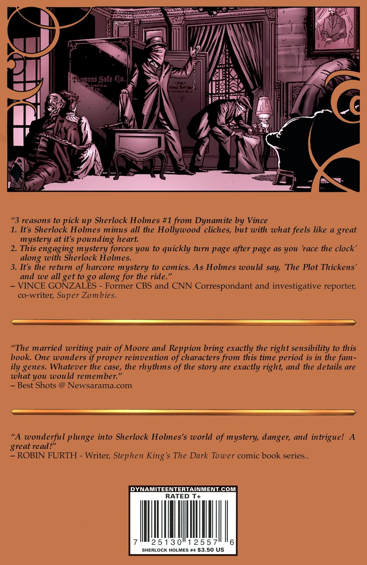 Read online Sherlock Holmes (2009) comic -  Issue #4 - 26