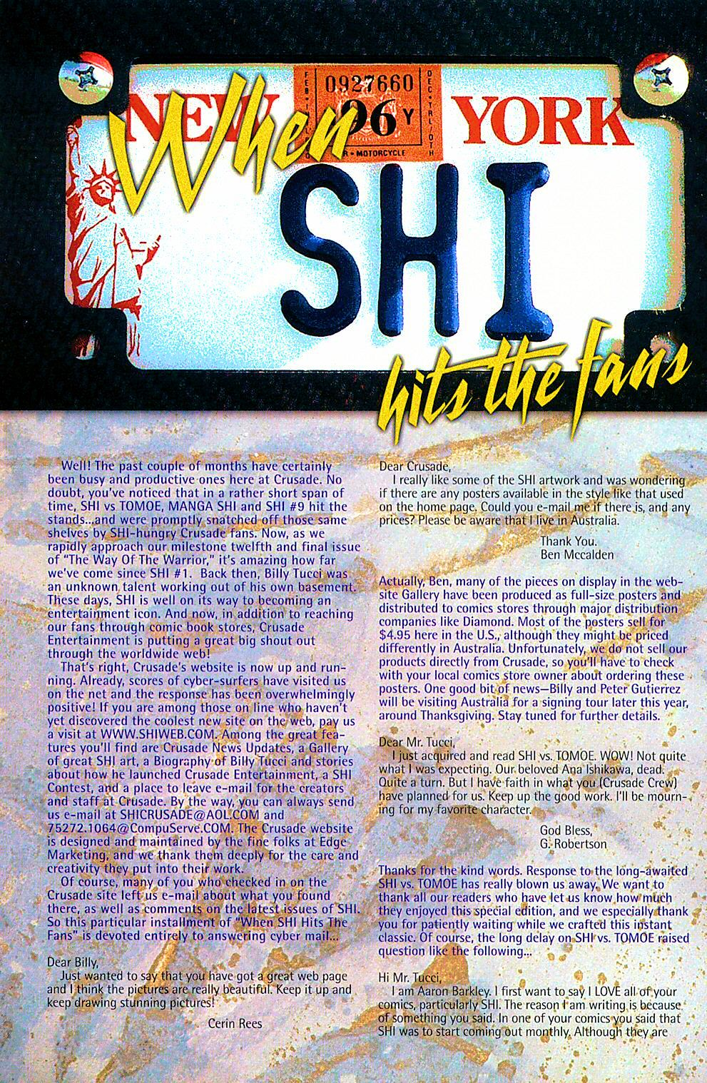 Read online Shi: The Way of the Warrior comic -  Issue #10 - 28
