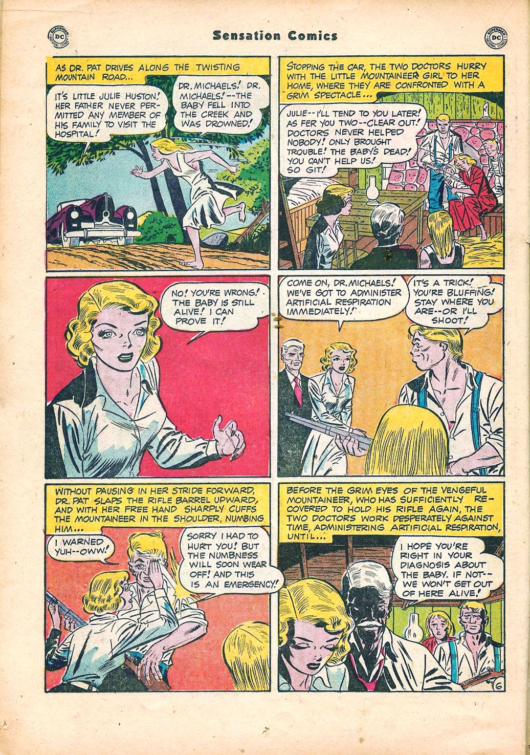 Read online Sensation (Mystery) Comics comic -  Issue #95 - 20