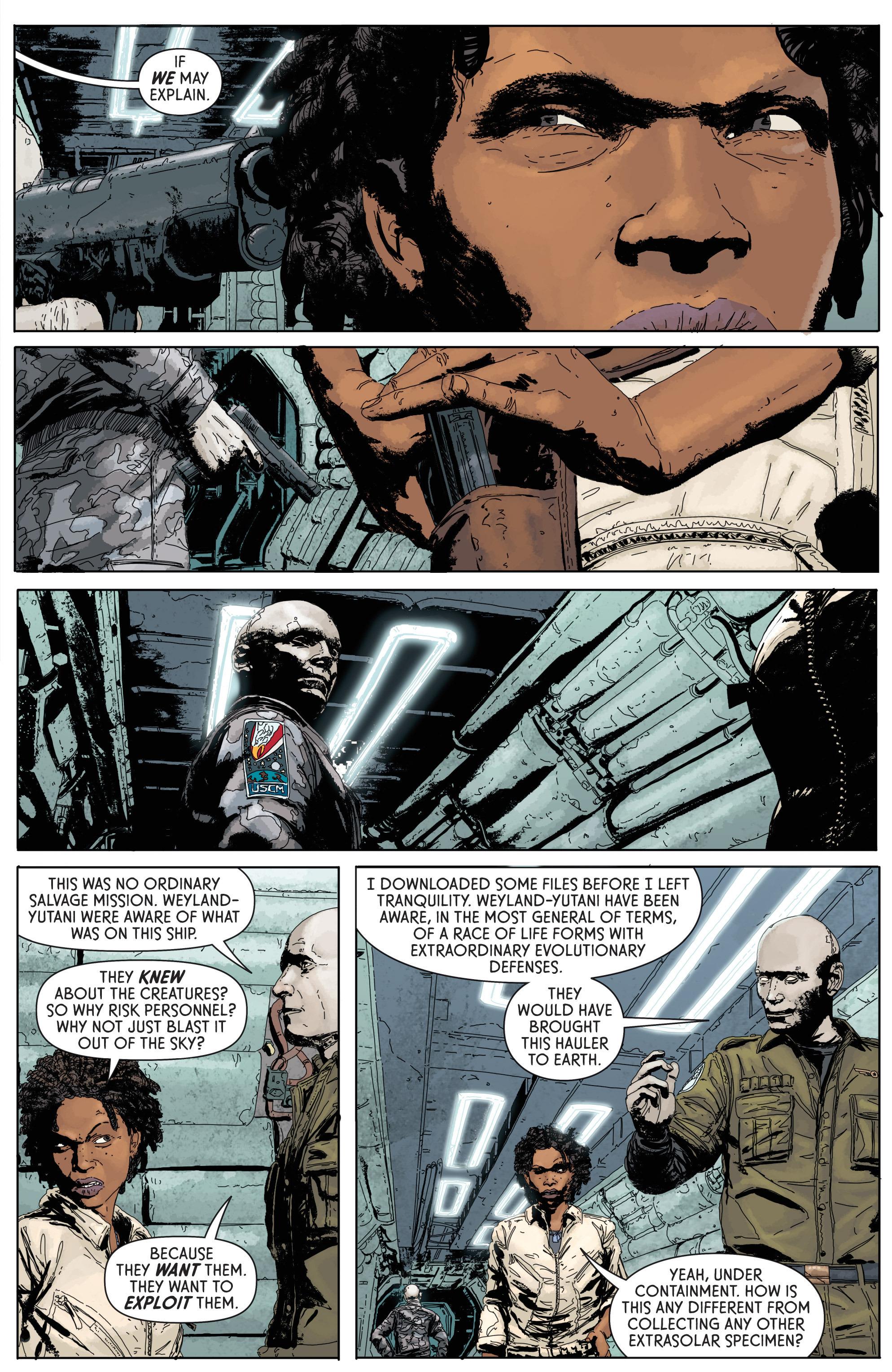 Read online Aliens: Defiance comic -  Issue #1 - 27