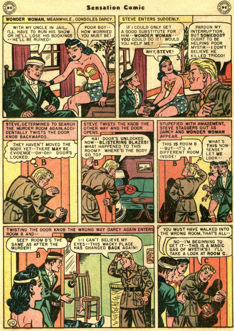 Read online Sensation (Mystery) Comics comic -  Issue #69 - 14
