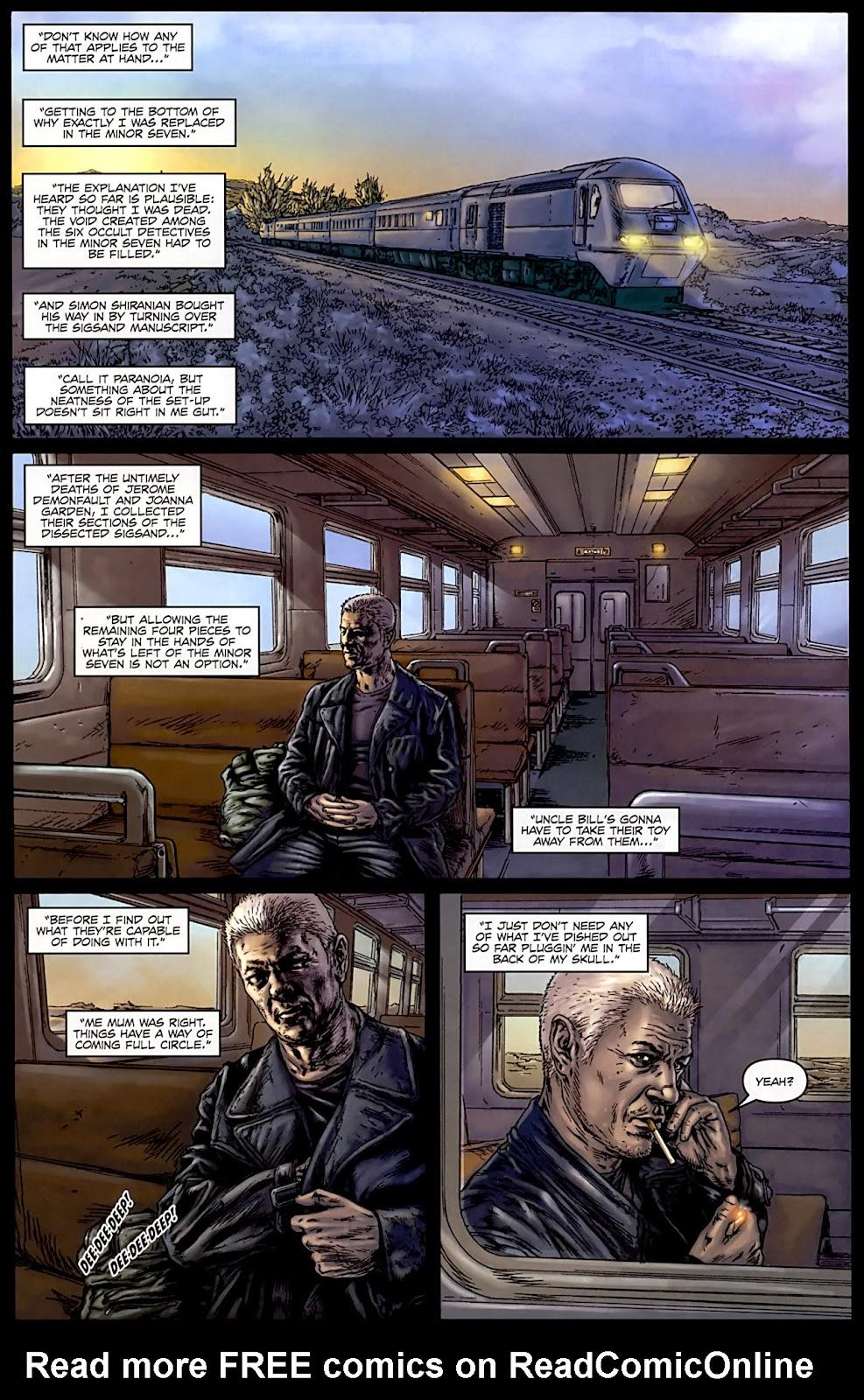 Comic Gravel issue 4