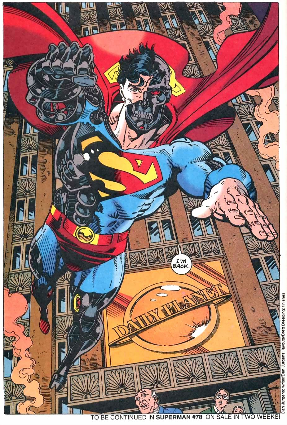 Read online Adventures of Superman (1987) comic -  Issue #500 - 68