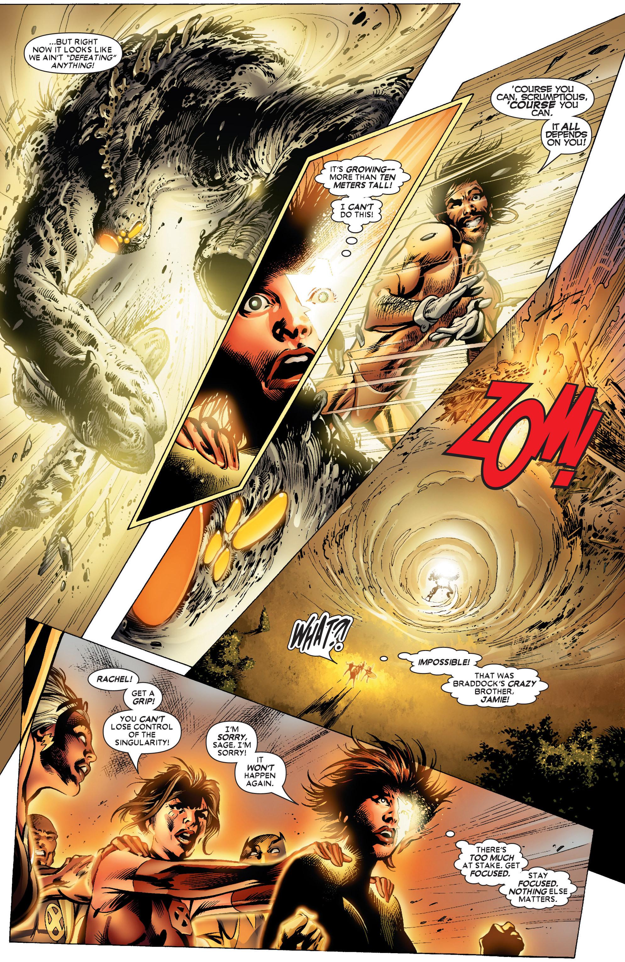 Read online Uncanny X-Men (1963) comic -  Issue #447 - 21