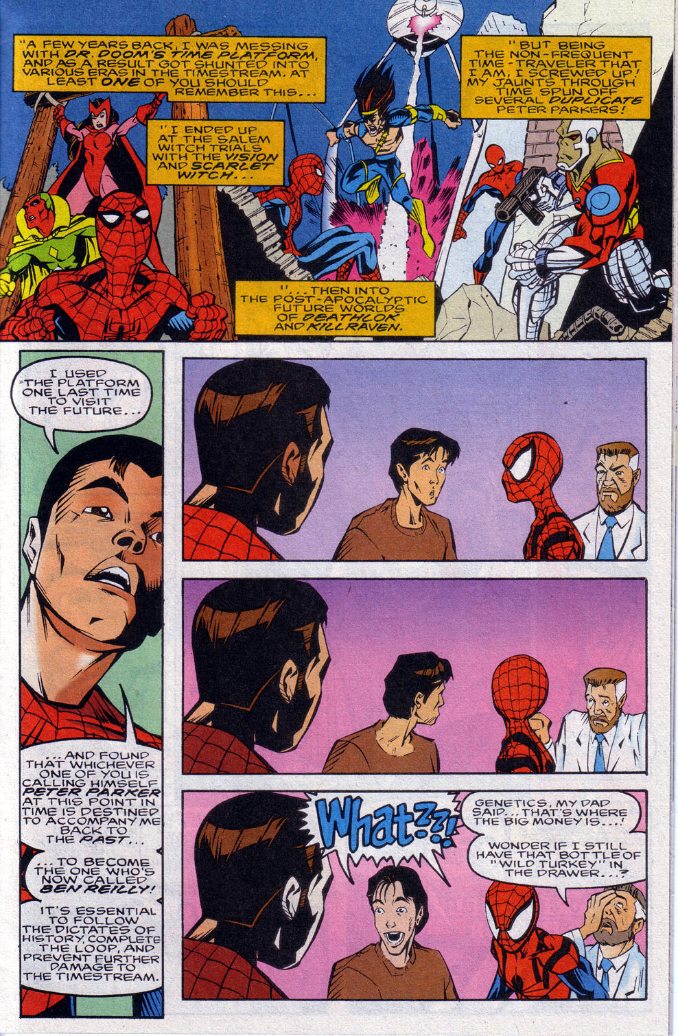 Read online 101 Ways to End the Clone Saga comic -  Issue #101 Ways to End the Clone Saga Full - 13