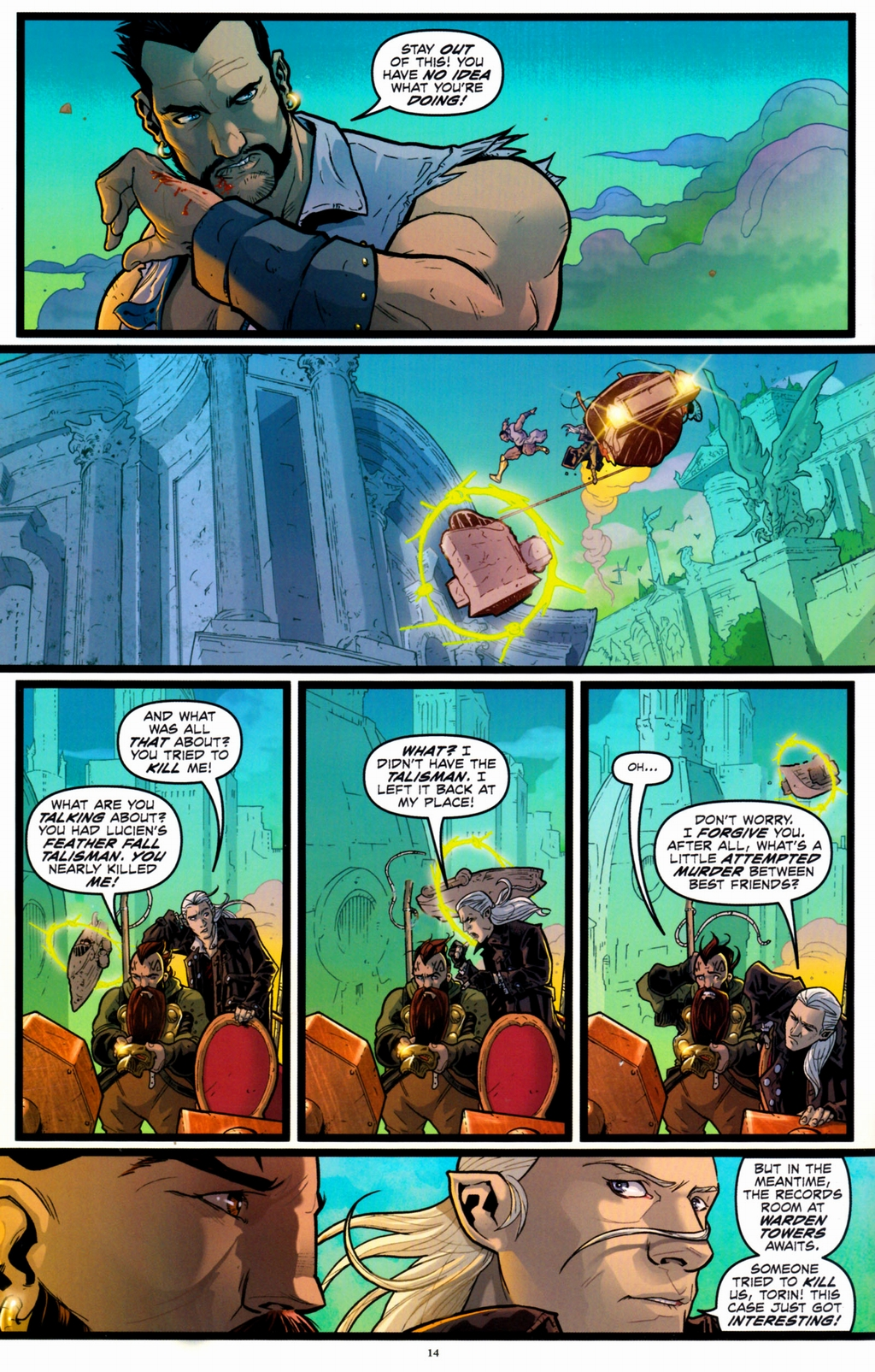 Read online Infestation 2: Dungeons & Dragons comic -  Issue #1 - 17