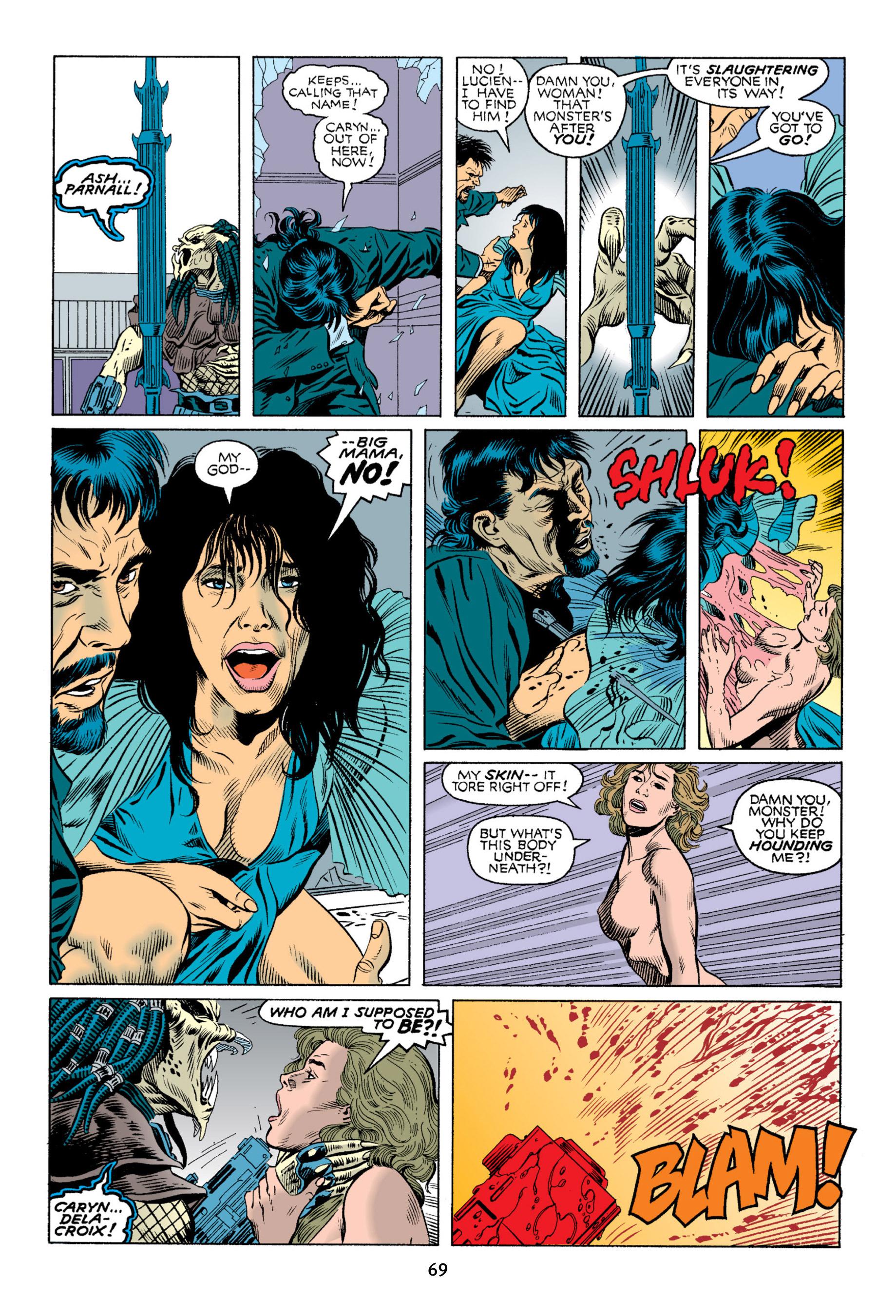 Read online Aliens vs. Predator Omnibus comic -  Issue # _TPB 2 Part 1 - 68