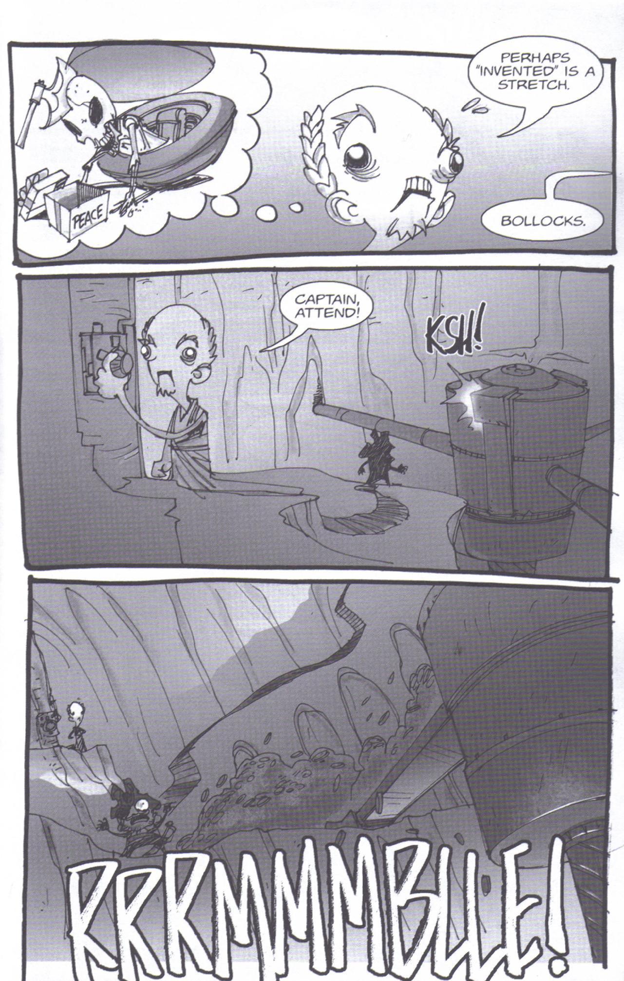 Read online Pirates vs. Ninjas: Global Harming comic -  Issue # Full - 20
