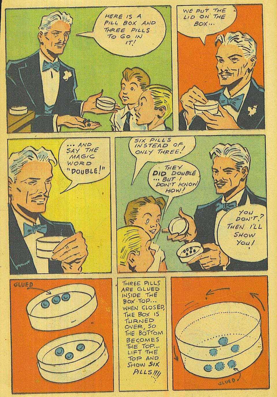 Read online Super-Magician Comics comic -  Issue #42 - 17