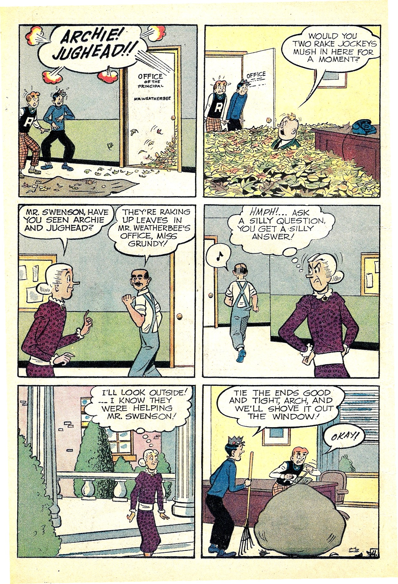Read online Archie (1960) comic -  Issue #127 - 16