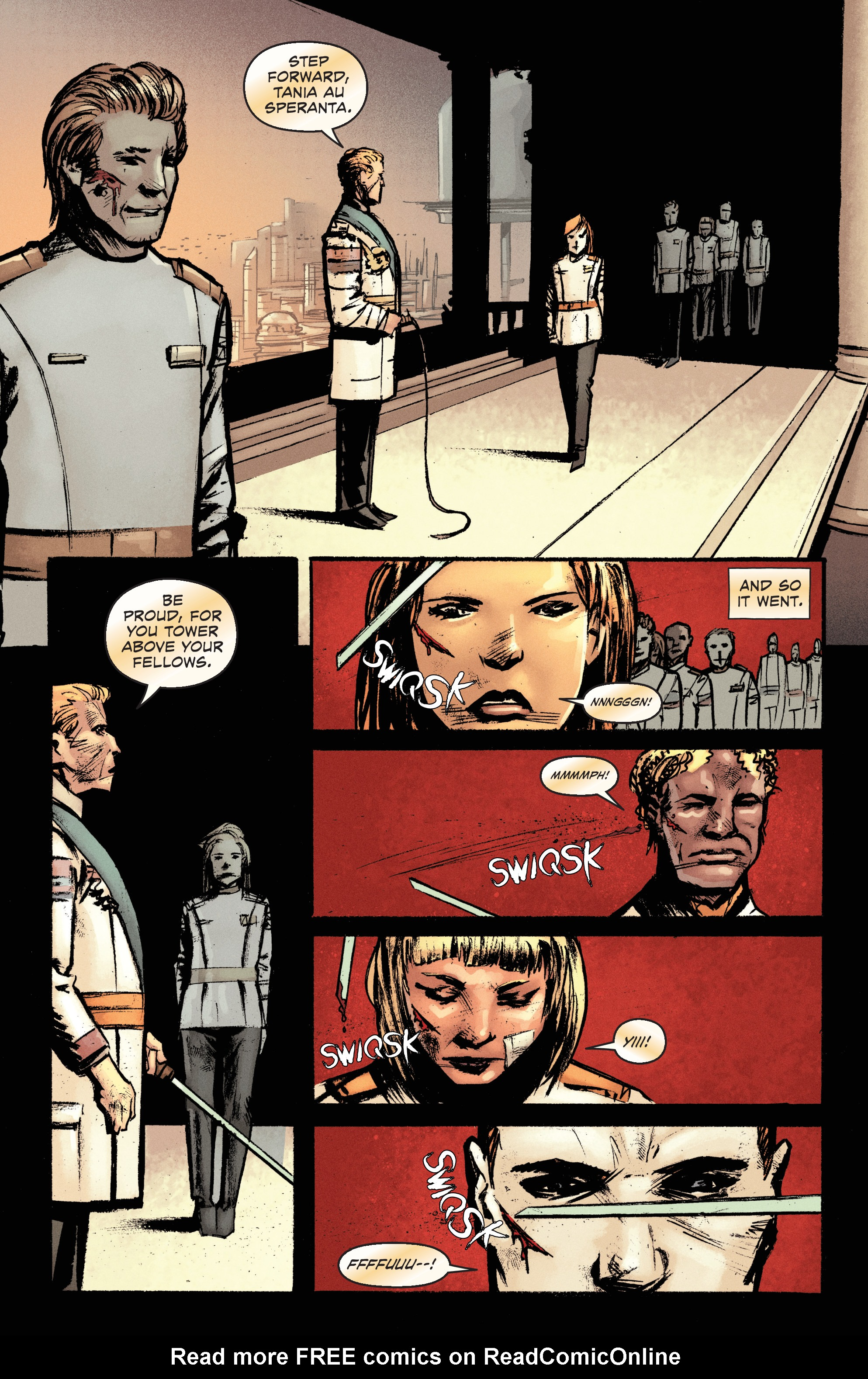 Read online Pierce Brown's Red Rising: Son Of Ares comic -  Issue #2 - 15