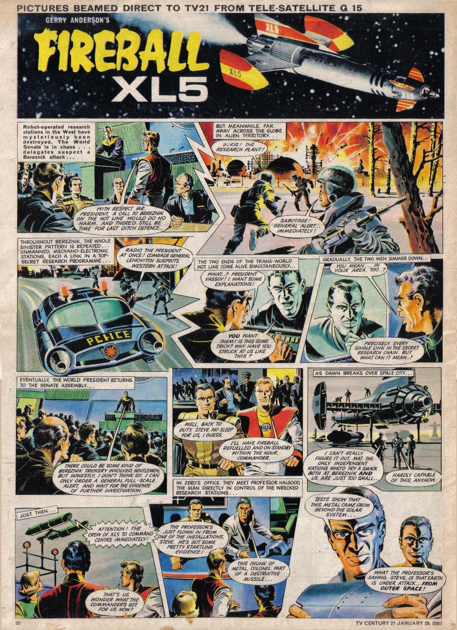 Read online TV Century 21 (TV 21) comic -  Issue #106 - 19