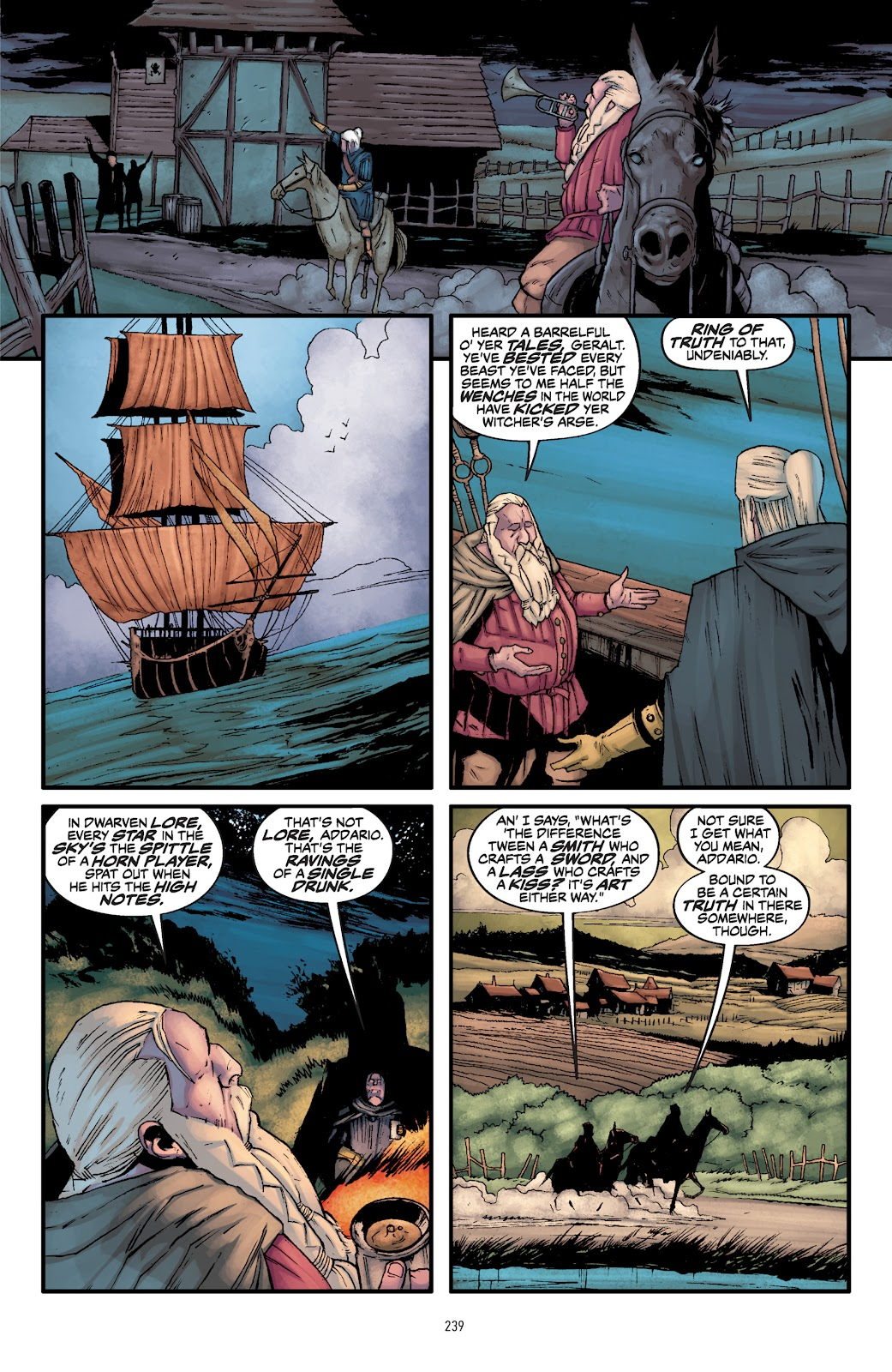 Read online The Witcher Omnibus comic -  Issue # TPB (Part 3) - 41