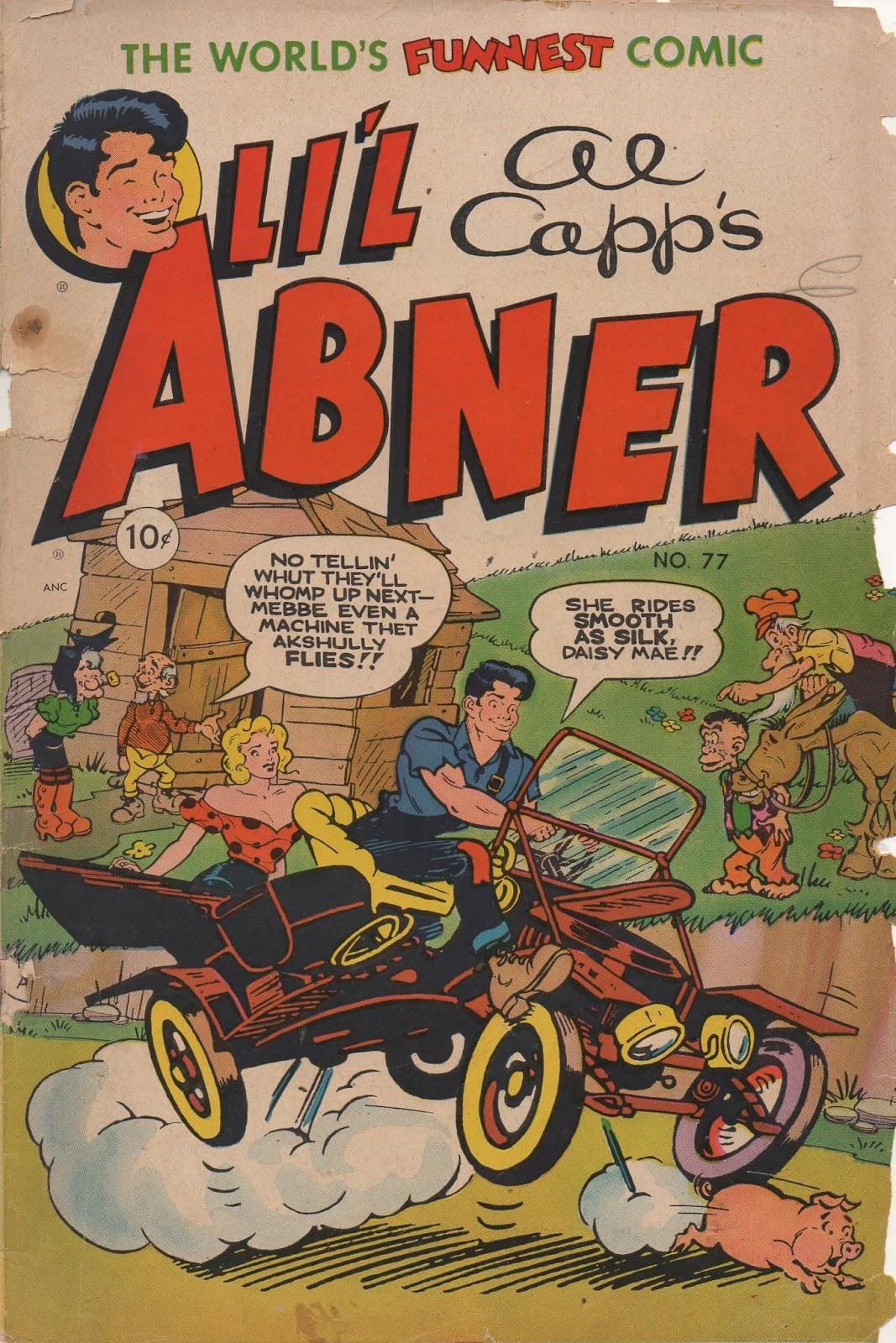 Li'l Abner Comics issue 77 - Page 1