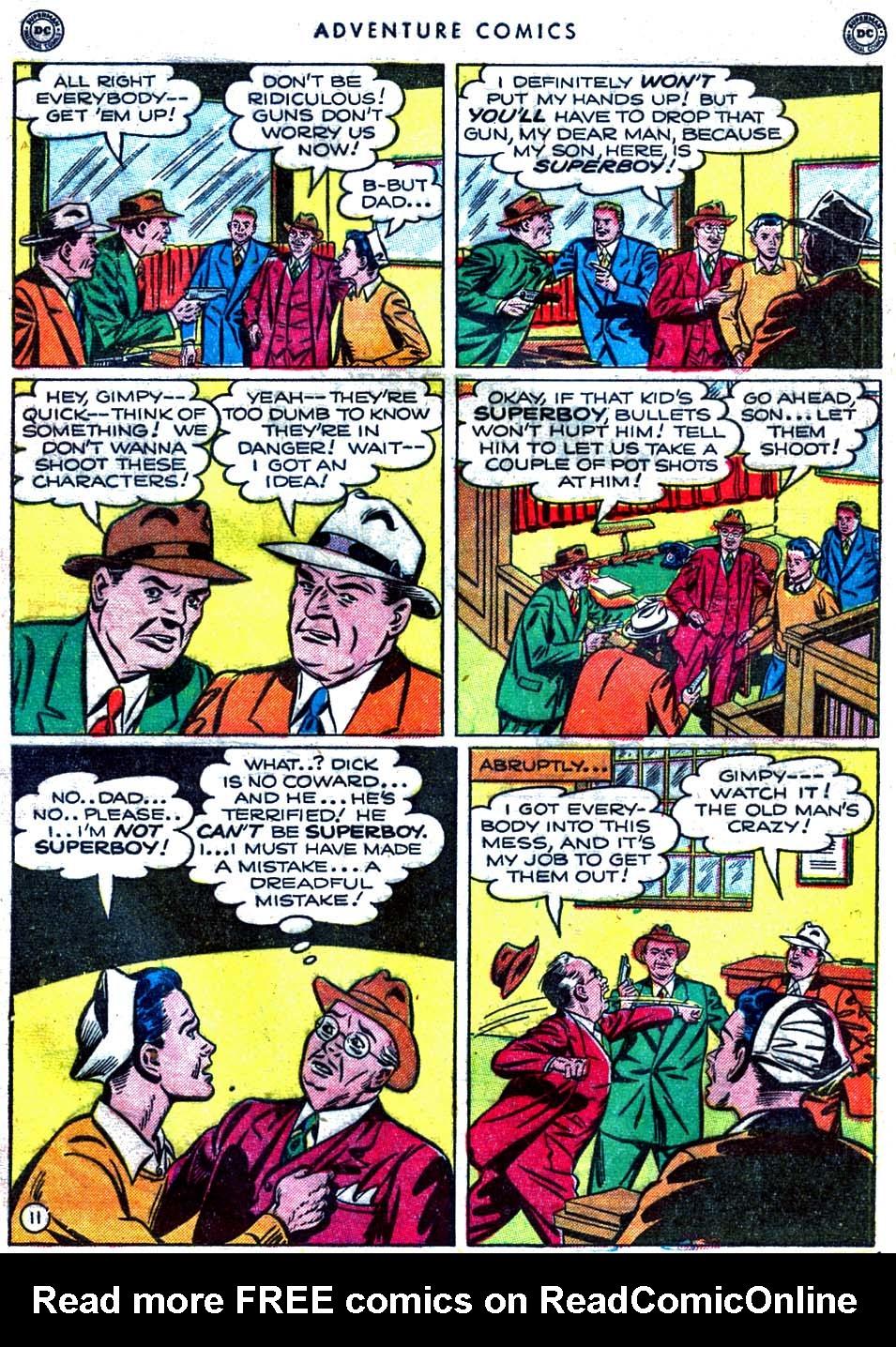 Read online Adventure Comics (1938) comic -  Issue #163 - 13