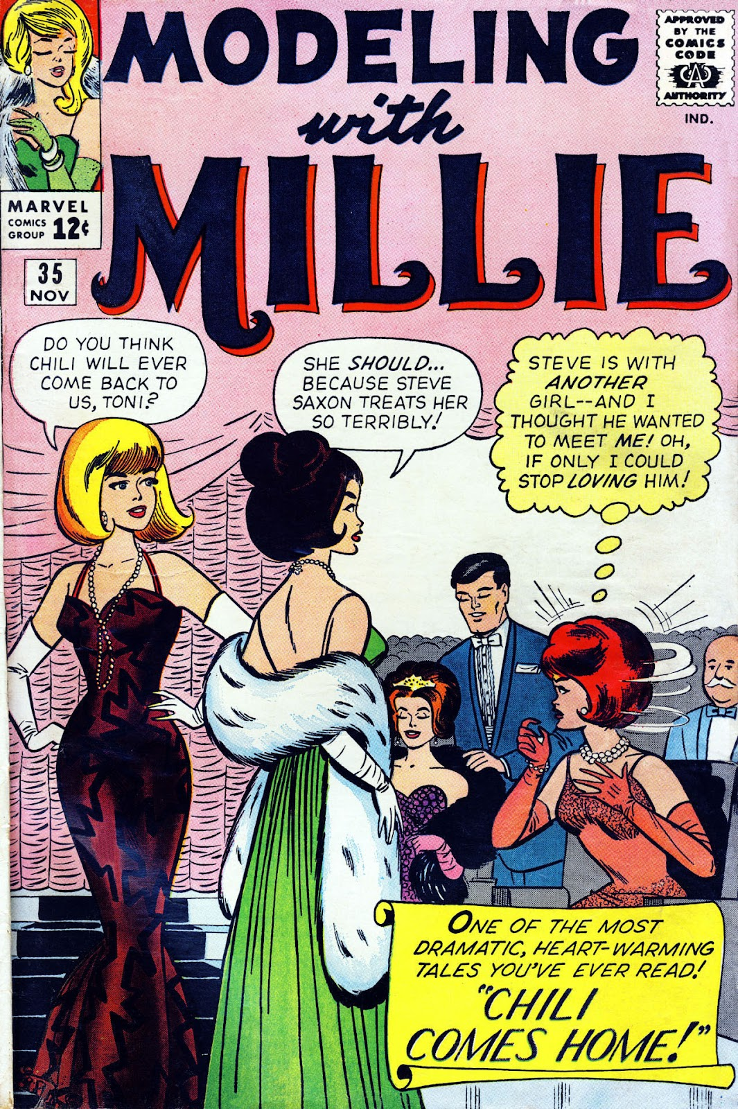 Modeling With Millie issue 35 - Page 1