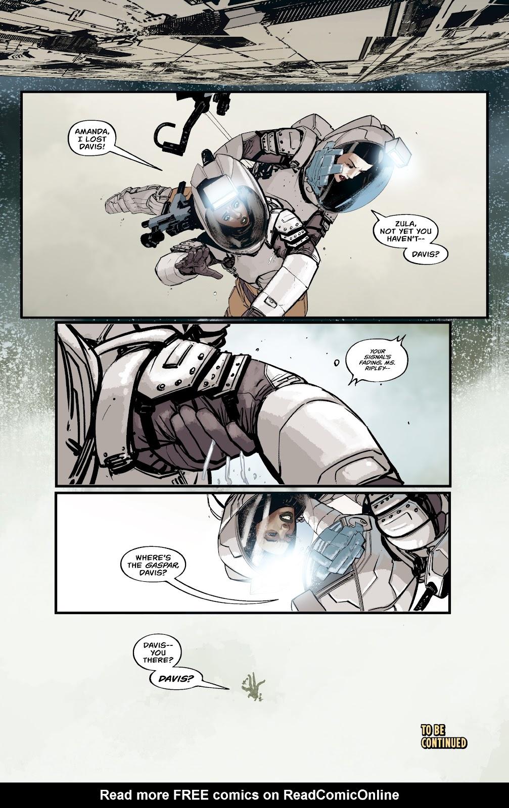 Read online Aliens: Resistance comic -  Issue #2 - 22
