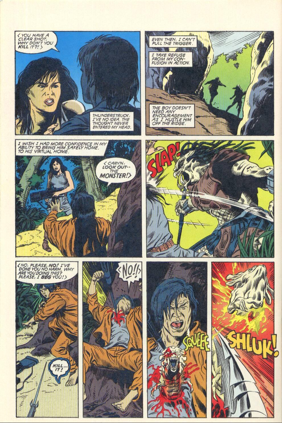 Read online Aliens/Predator: The Deadliest of the Species comic -  Issue #2 - 27