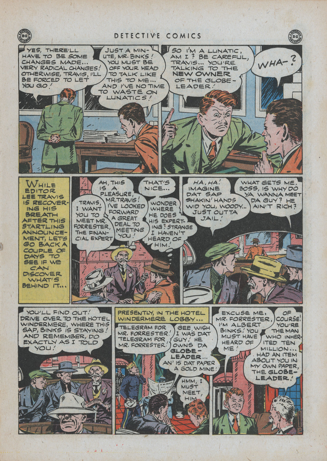 Read online Detective Comics (1937) comic -  Issue #88 - 31