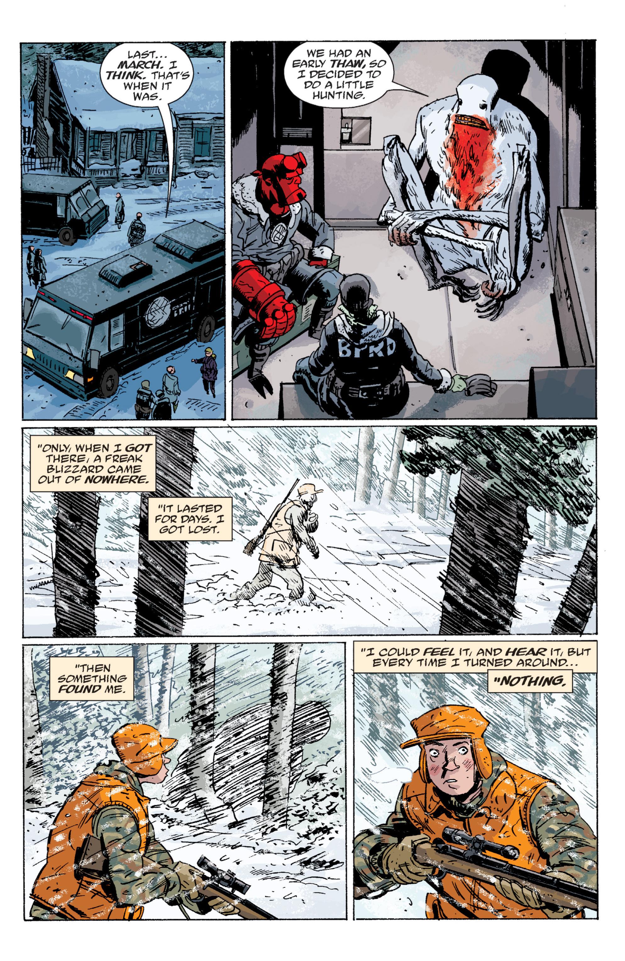 Read online B.P.R.D. (2003) comic -  Issue # TPB 6 - 104